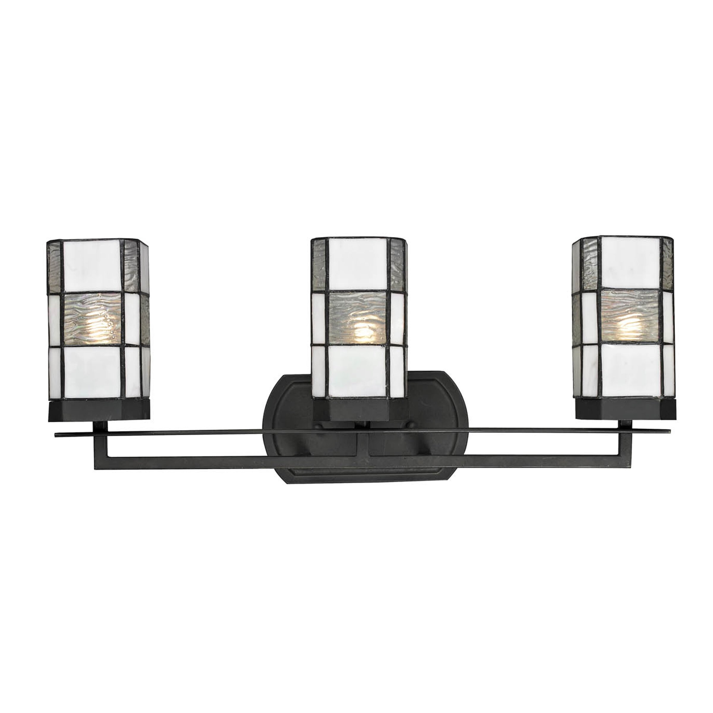 Tiffany Bathroom Lighting: Dale Tiffany Landis 3 Light Bath Vanity Light & Reviews