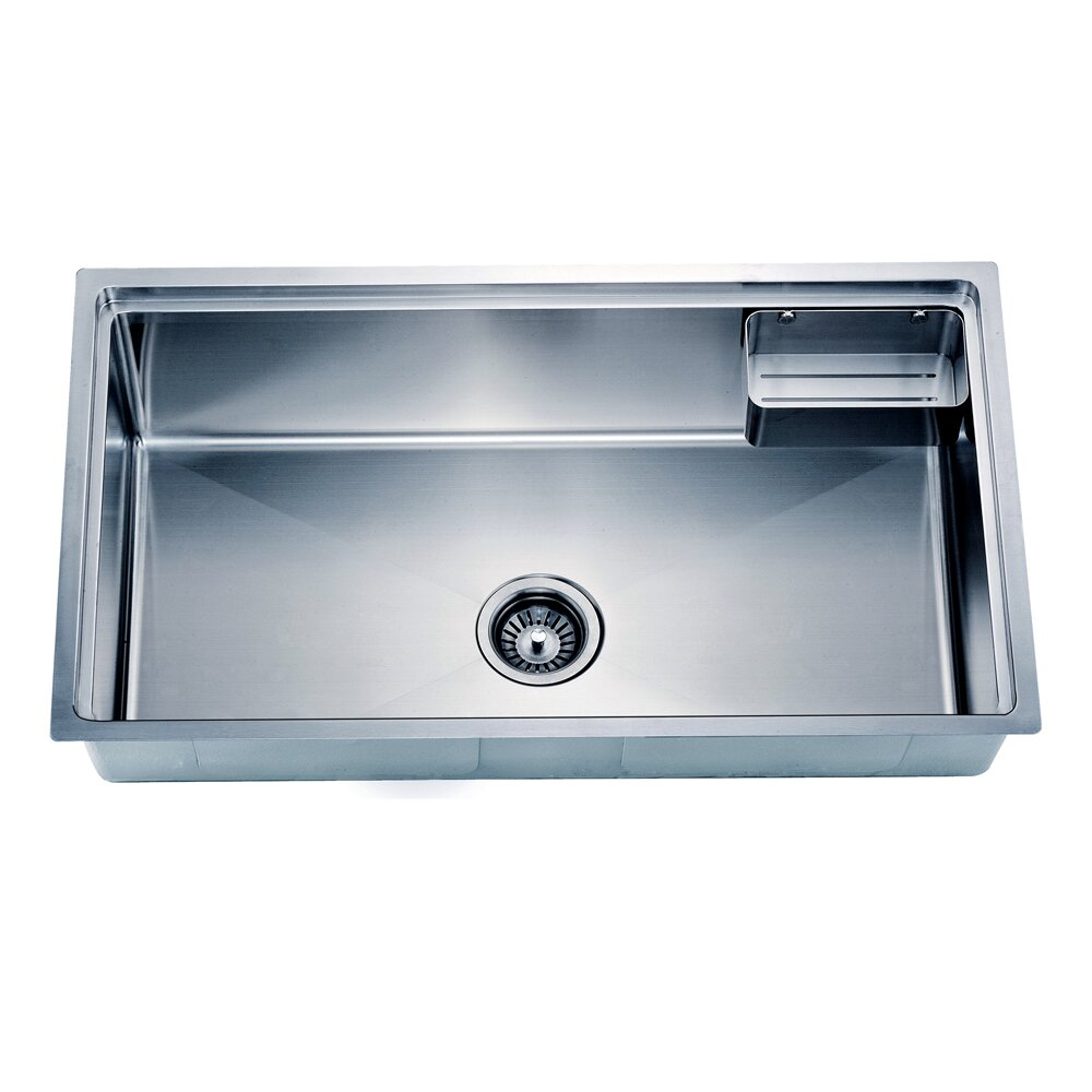 X Under Mount Small Corner Radius Single Bowl Kitchen Sink Wayfair Supply