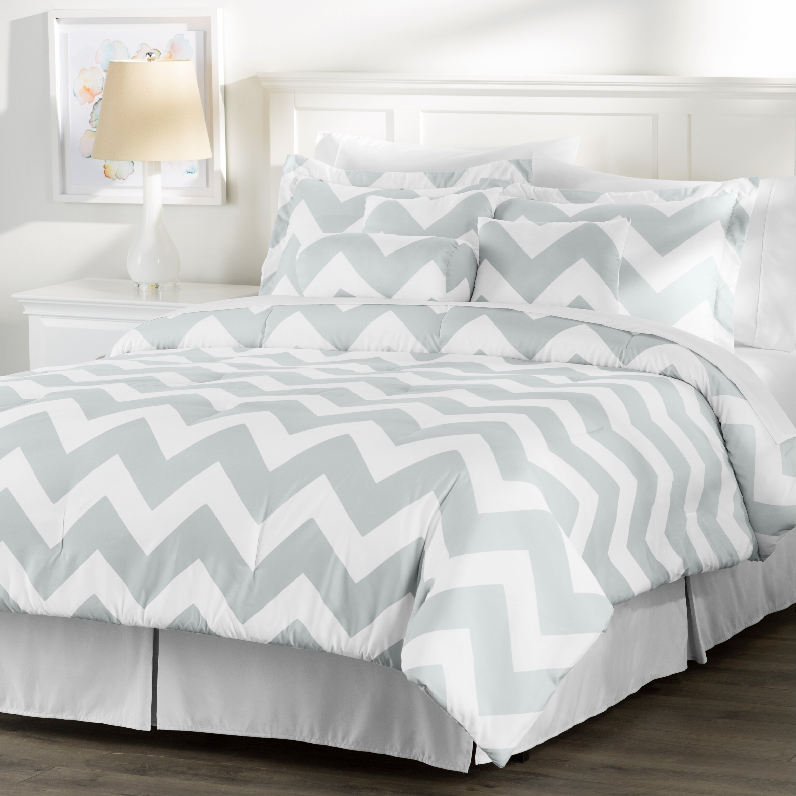 Wayfair basics wayfair basics 7 piece comforter set amp reviews - Wayfair Basics Wayfair Basics 7 Piece Comforter Set