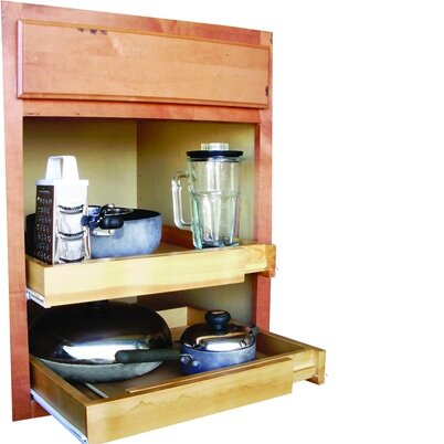 Ja marketing bamboo expandable kitchen cabinet pull out for Bamboo kitchen cabinets reviews