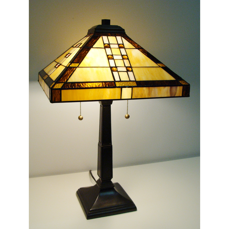 fine art lighting tiffany style 23 table lamp reviews wayfair. Black Bedroom Furniture Sets. Home Design Ideas