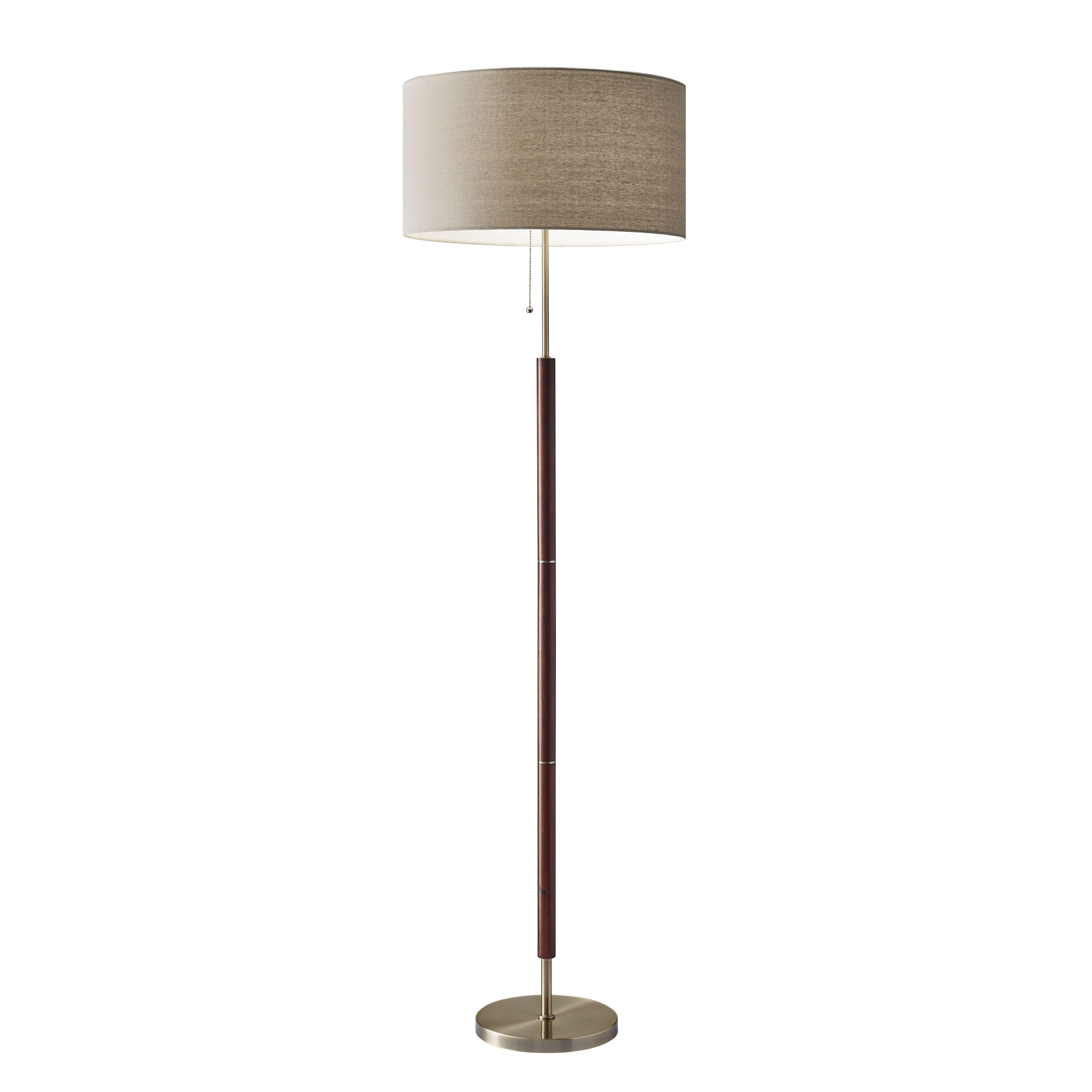 adesso hamilton 65 5 floor lamp reviews wayfair. Black Bedroom Furniture Sets. Home Design Ideas