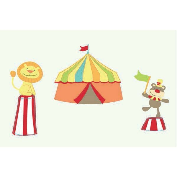 Mr Giggles Circus Room Décor Kit Wall Decal by Fun To See
