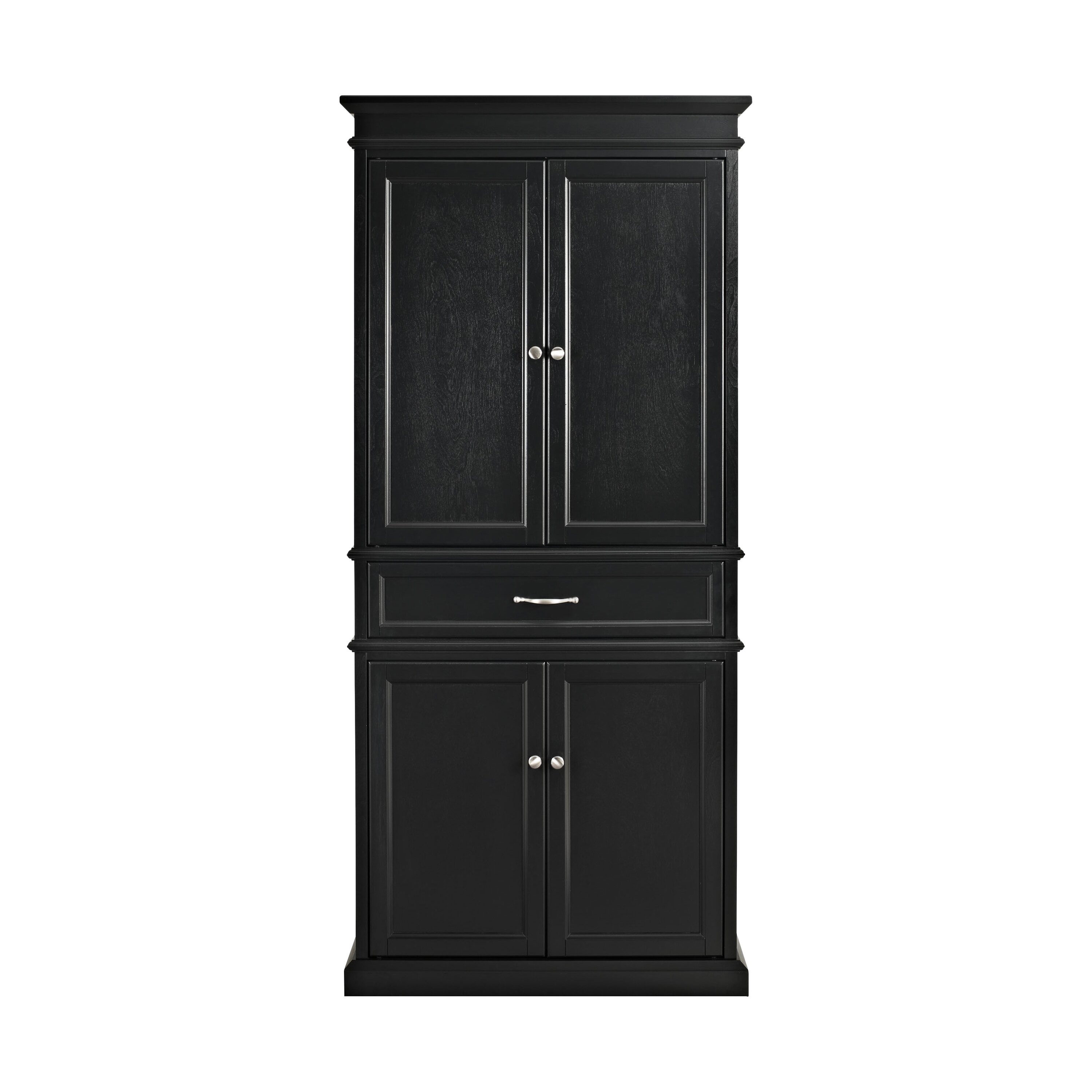Unfinished Kitchen Pantry: Pantry Cabinet: Closetmaid Pantry Cabinet Alder With