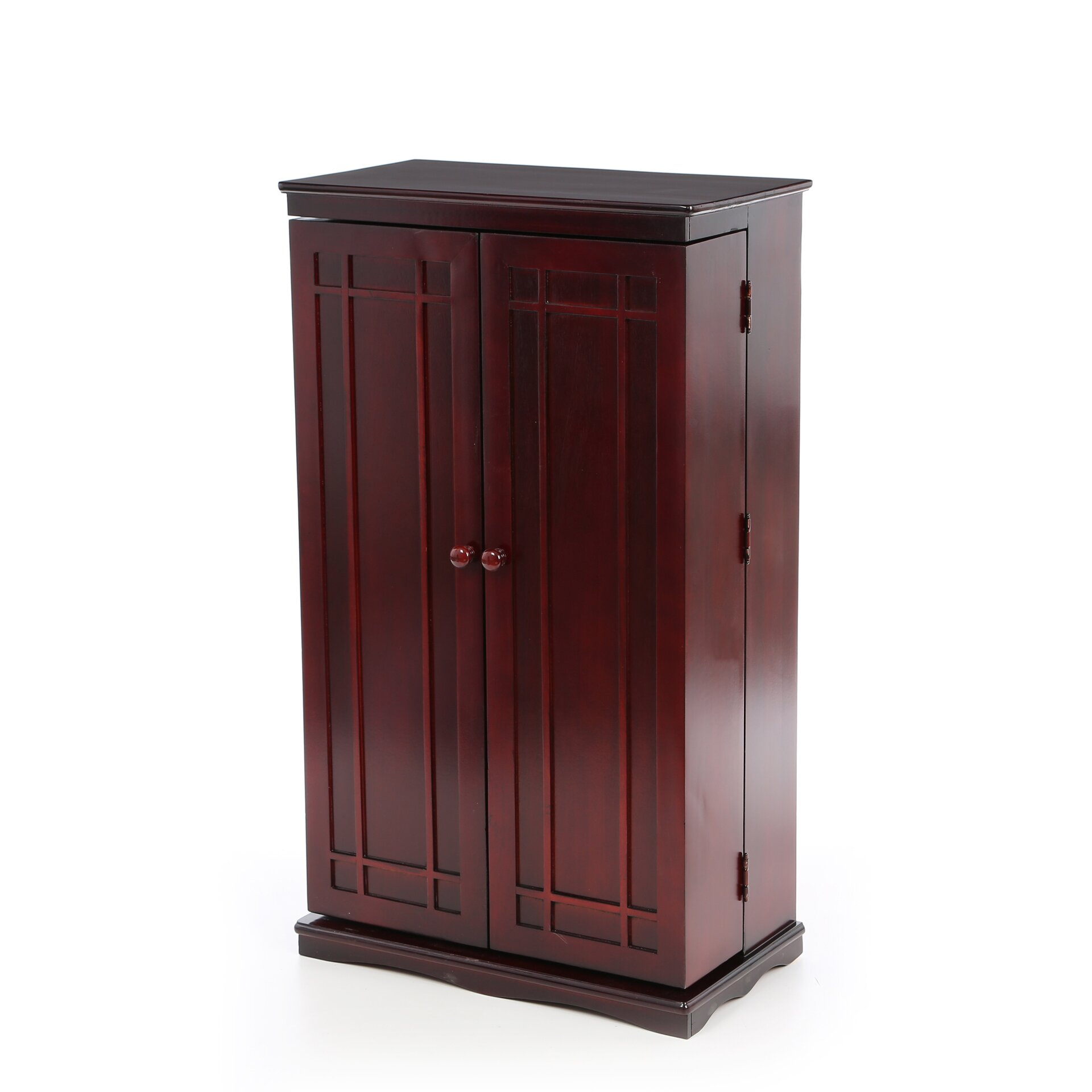 Darby home co mitchell multimedia storage cabinet reviews wayfair - Kabinet multimedia ...