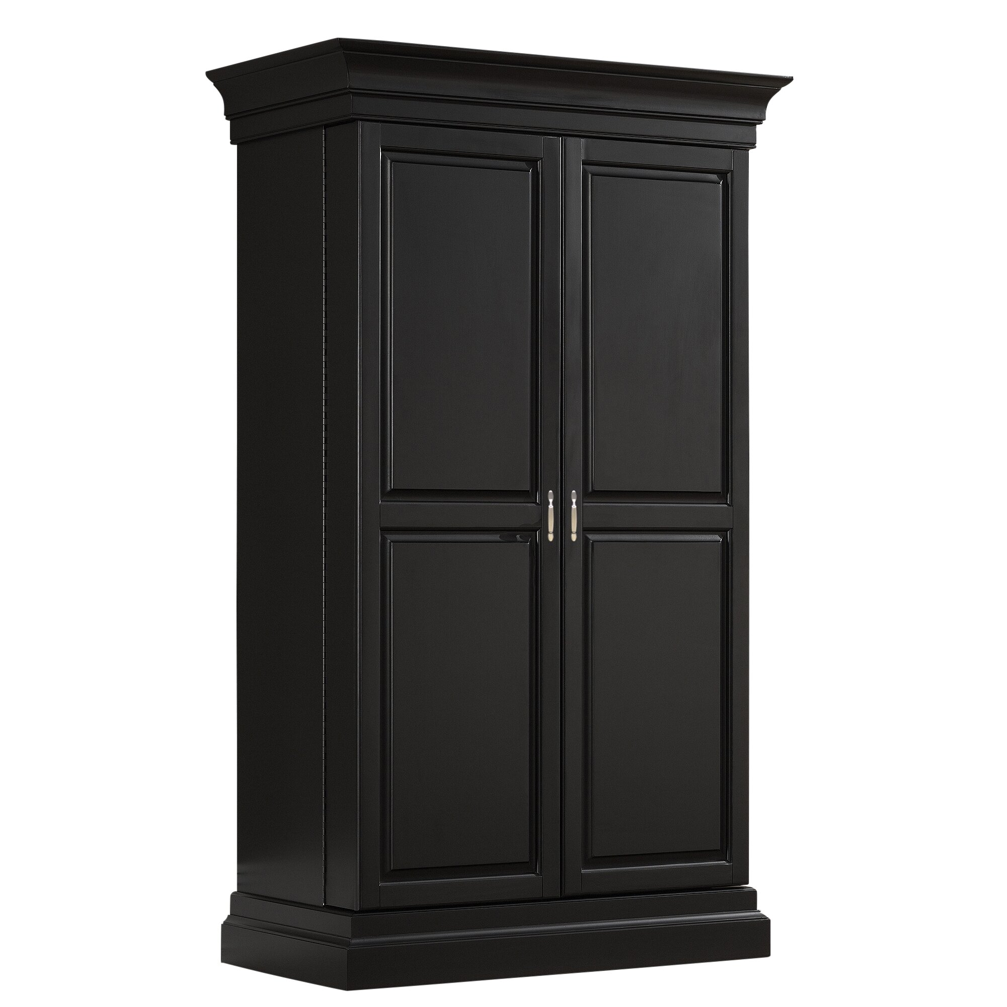 Darby Home Co Arsenault Bar Cabinet with Wine Storage & Reviews ...