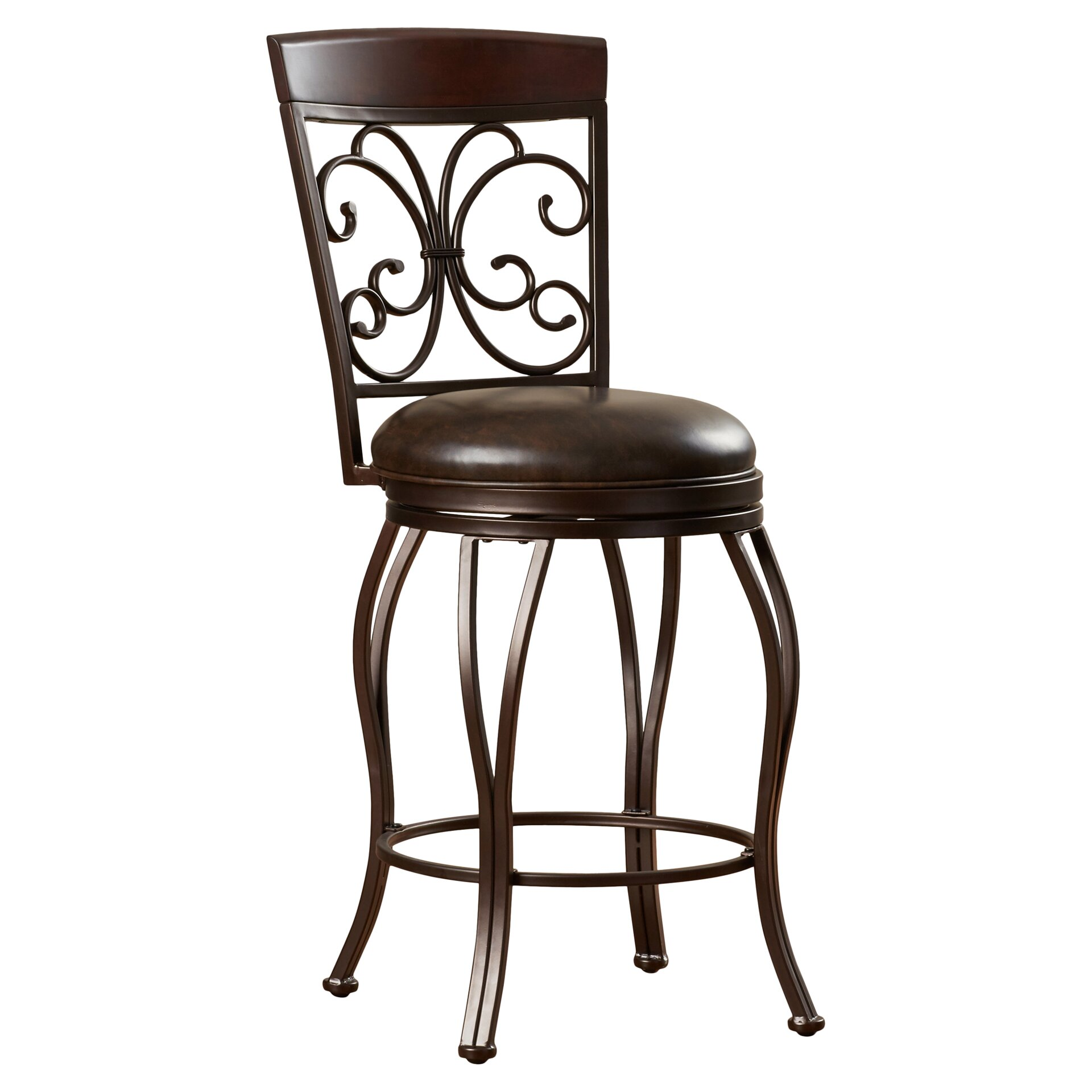 co edenfield 30 swivel bar stool with cushion reviews wayfair