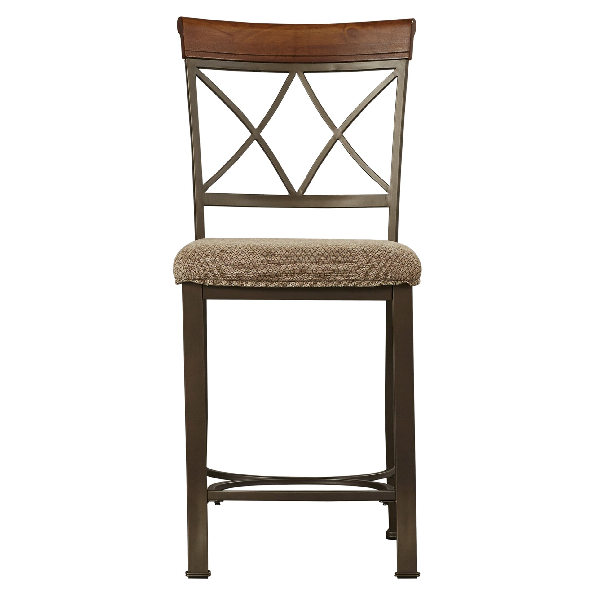 darby home co hardiman 24 bar stool with cushion reviews wayfair