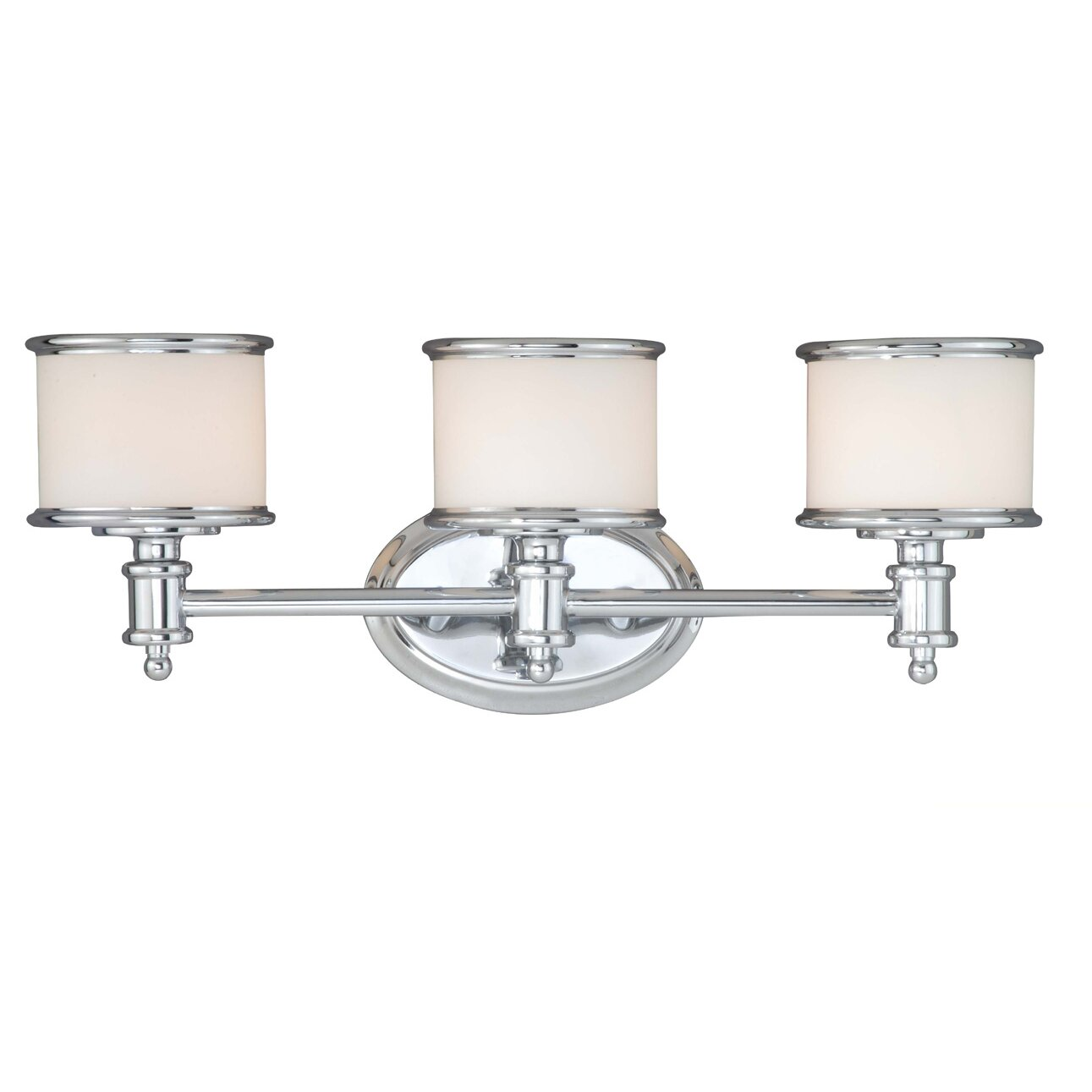Darby Home Co Bogan 3 Light Vanity Light Amp Reviews Wayfair