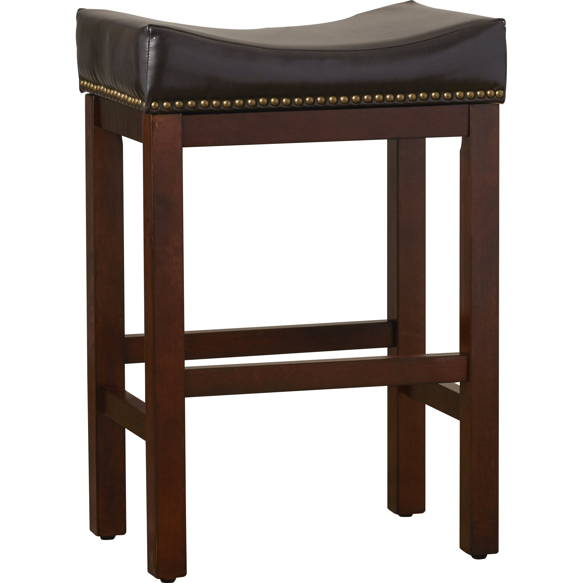 Darby Home Co Nickerson 26quot Bar Stool with Cushion  : Jasper Saddle 26 Bar Stool with Cushion DBHC6572 from www.wayfair.com size 2238 x 2238 jpeg 381kB