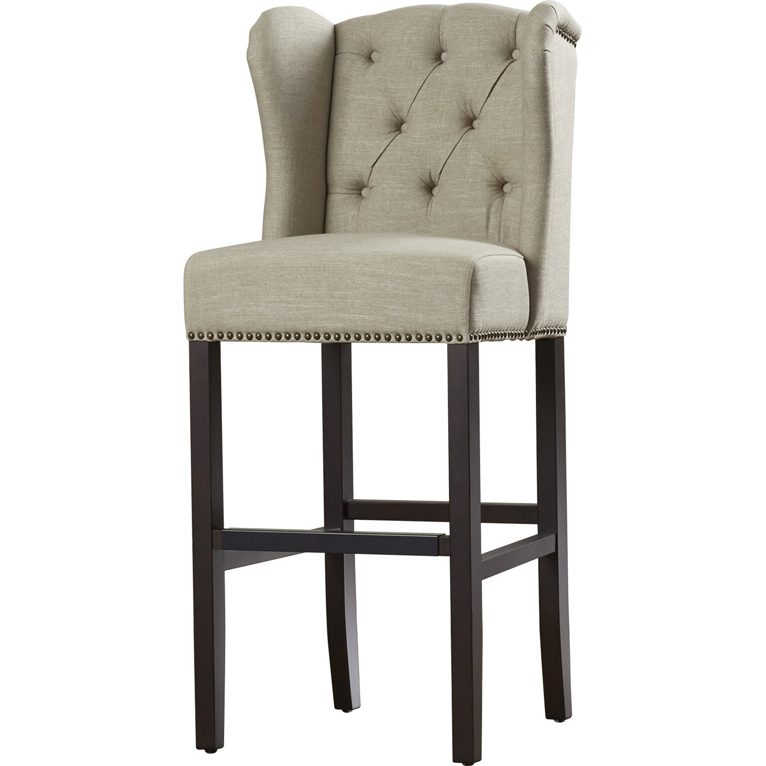 darby home co 30 bar stool with cushion reviews wayfair