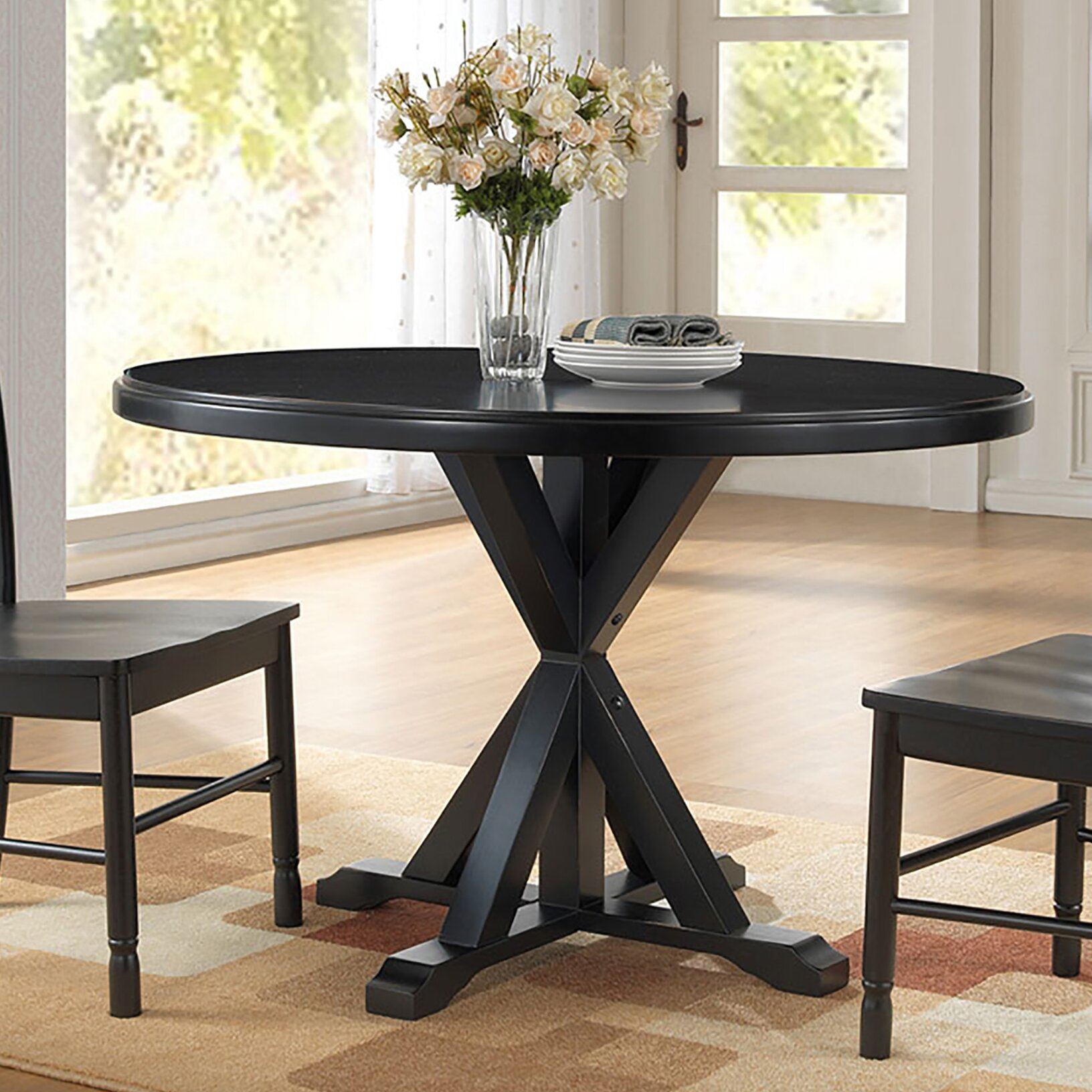 Alcott Hill X Base Dining Table Reviews Wayfair