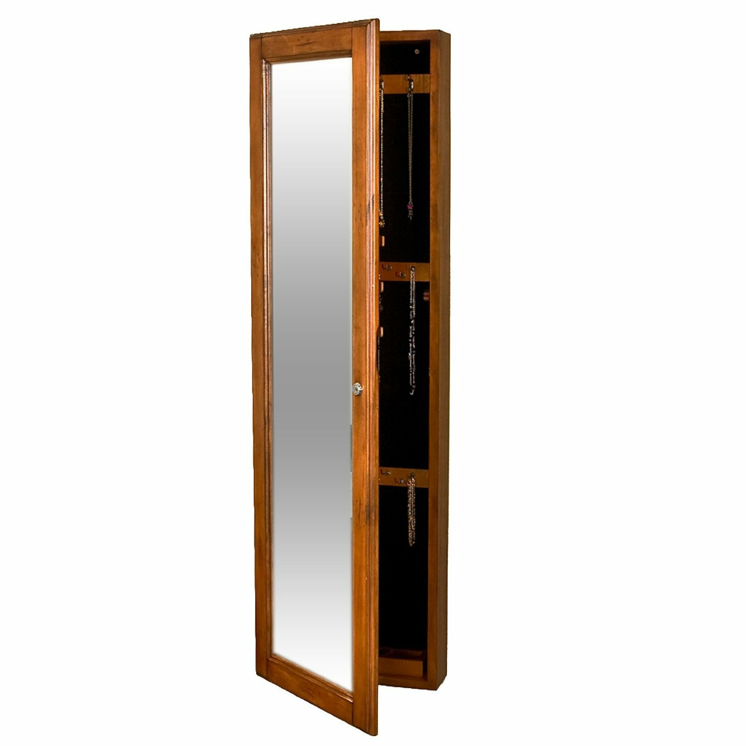 Alcott Hill Chauncey Wall-Mounted Jewelry Armoire With
