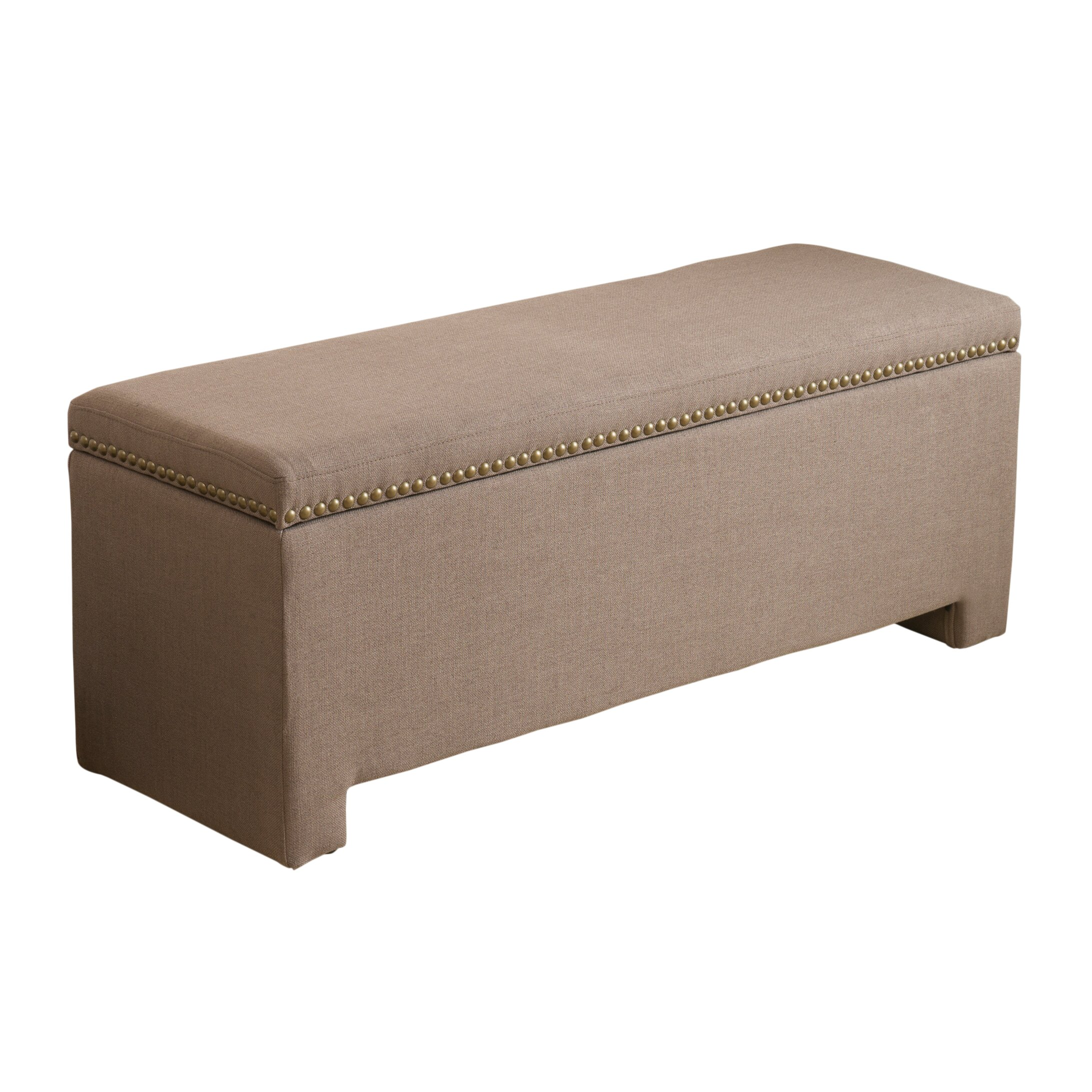 Alcott Hill Cloville Upholstered Storage Bedroom Bench Reviews Wayfair Supply