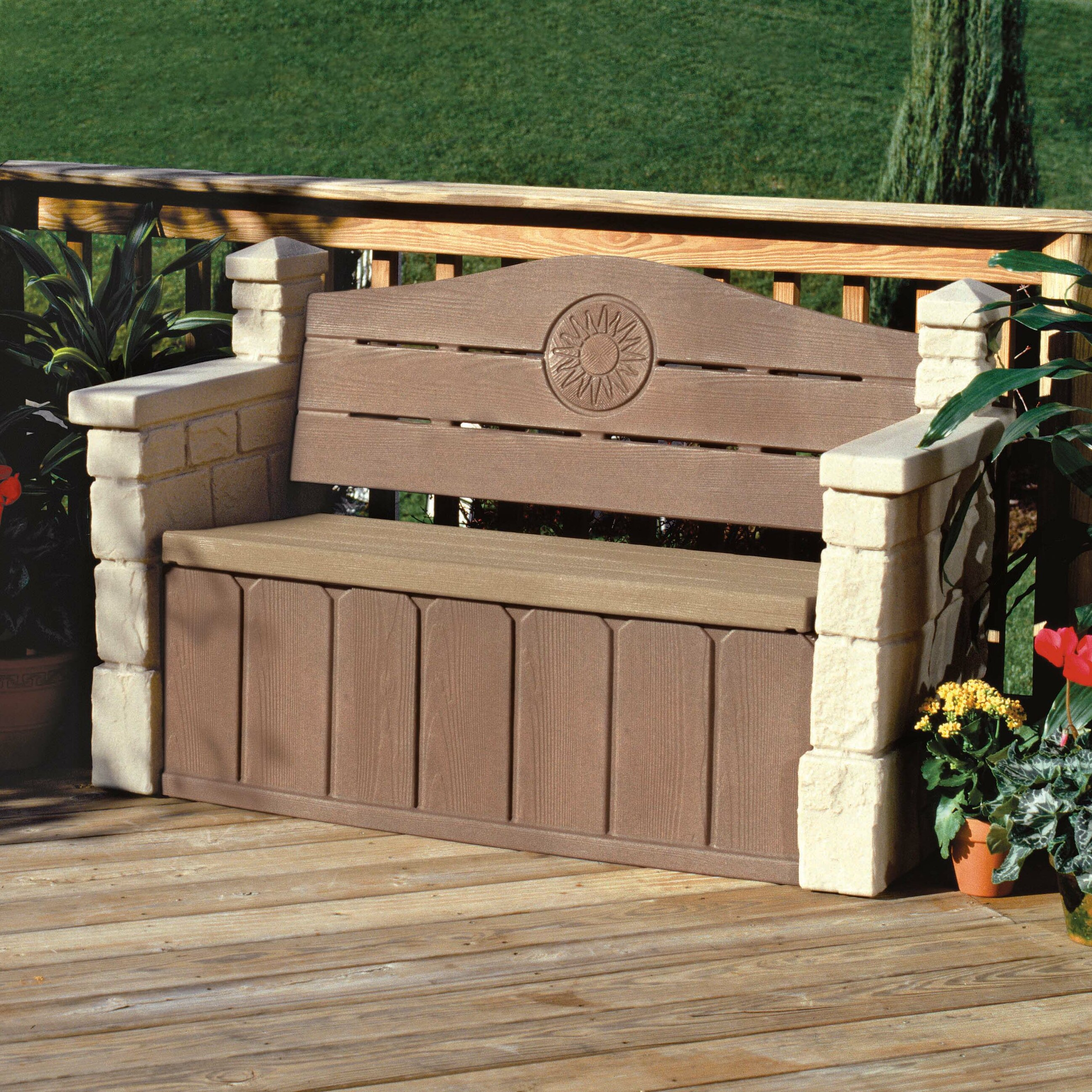 Charlton Home Chesterville Storage Bench & Reviews