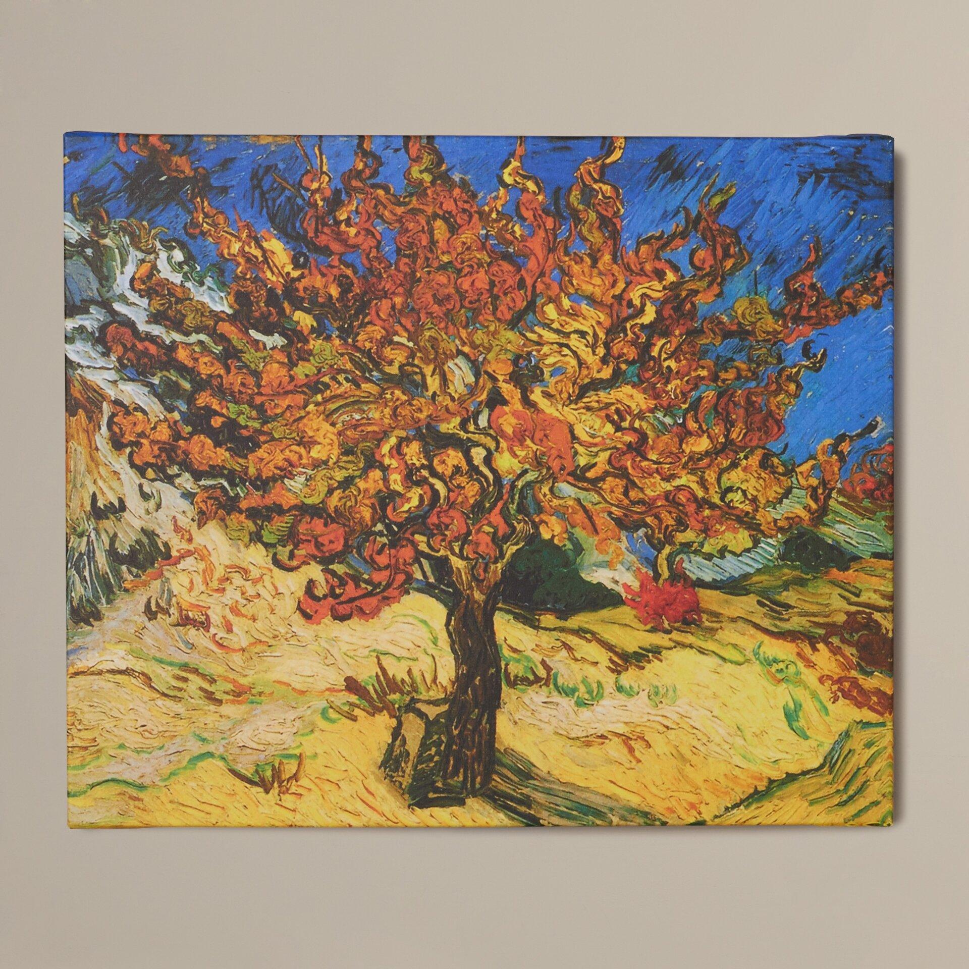 Van Gogh Year 2 %mulberry%btree%%bby%bvincent%bvan%bgogh%bpainting%bprint%bon%bcanvas