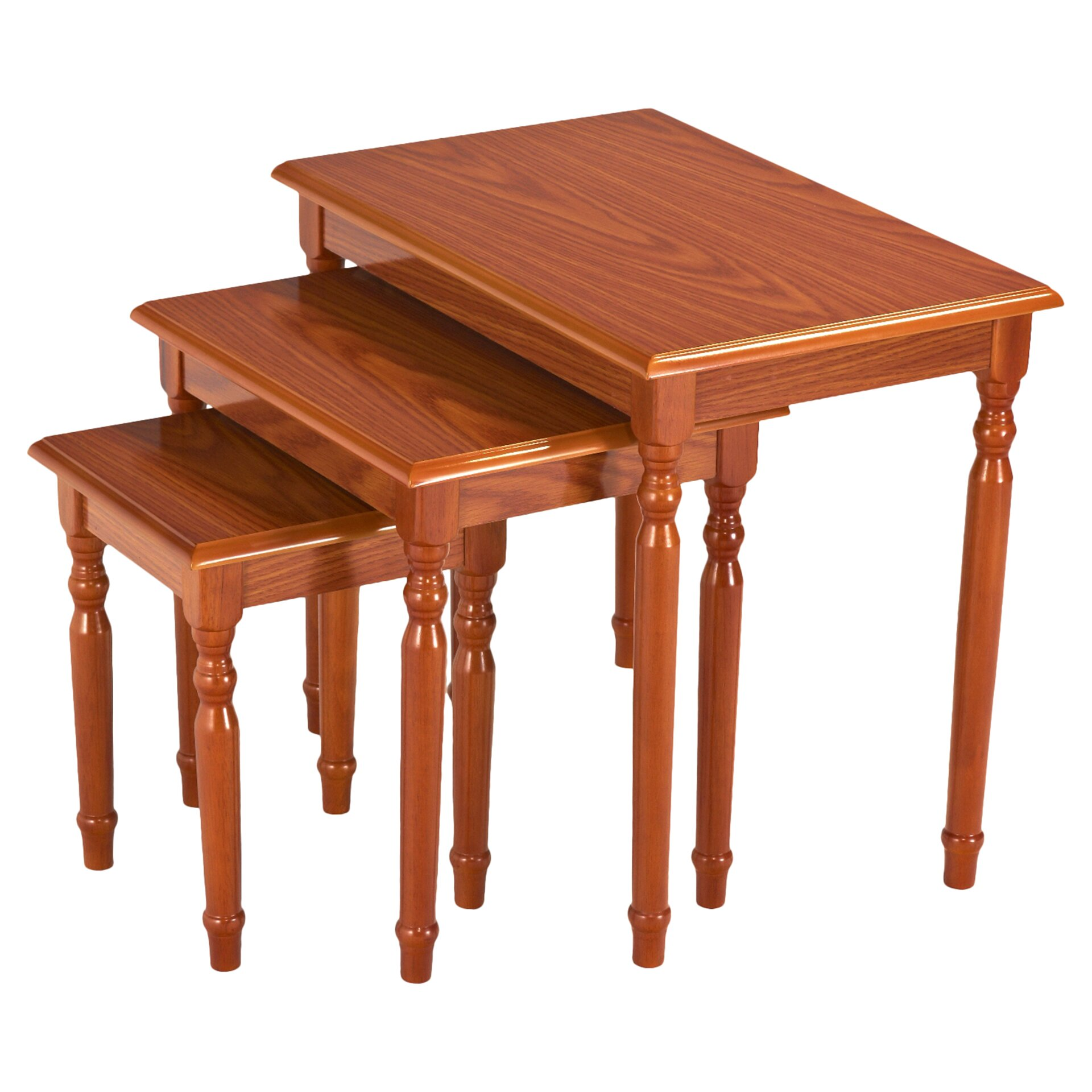 Charlton Home Raynsford 3 Piece Nesting Tables & Reviews Wayfair. Full resolution  photo, nominally Width 1920 Height 1920 pixels, photo with #471E09.