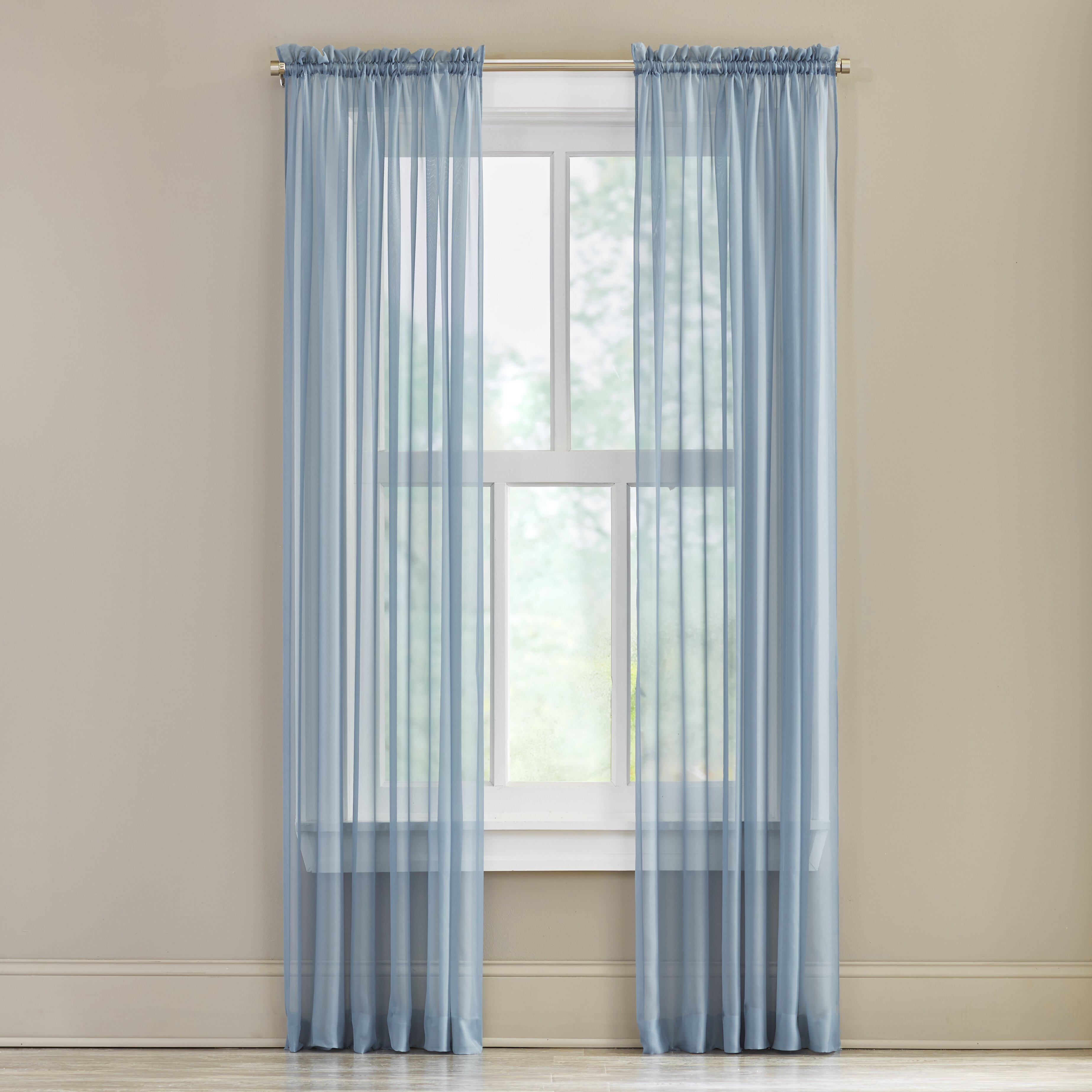 Charlton Home Joulon Curtain Panel Reviews Wayfair