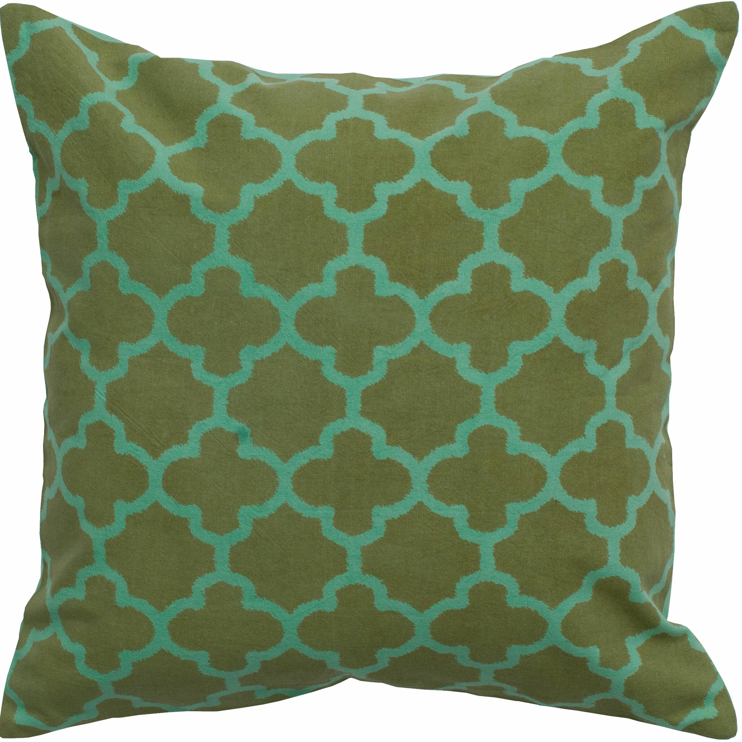 Throw Pillow Gallery : Varick Gallery Arbogast Print Cotton Throw Pillow & Reviews Wayfair
