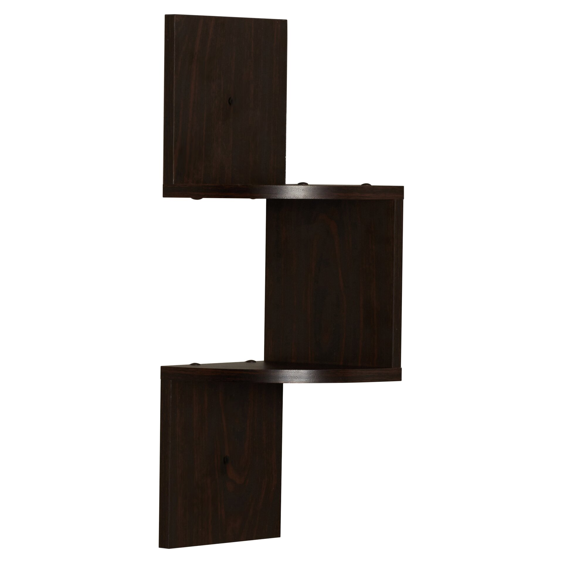 Varick Gallery Ashland Corner Wall Shelf & Reviews  Wayfair