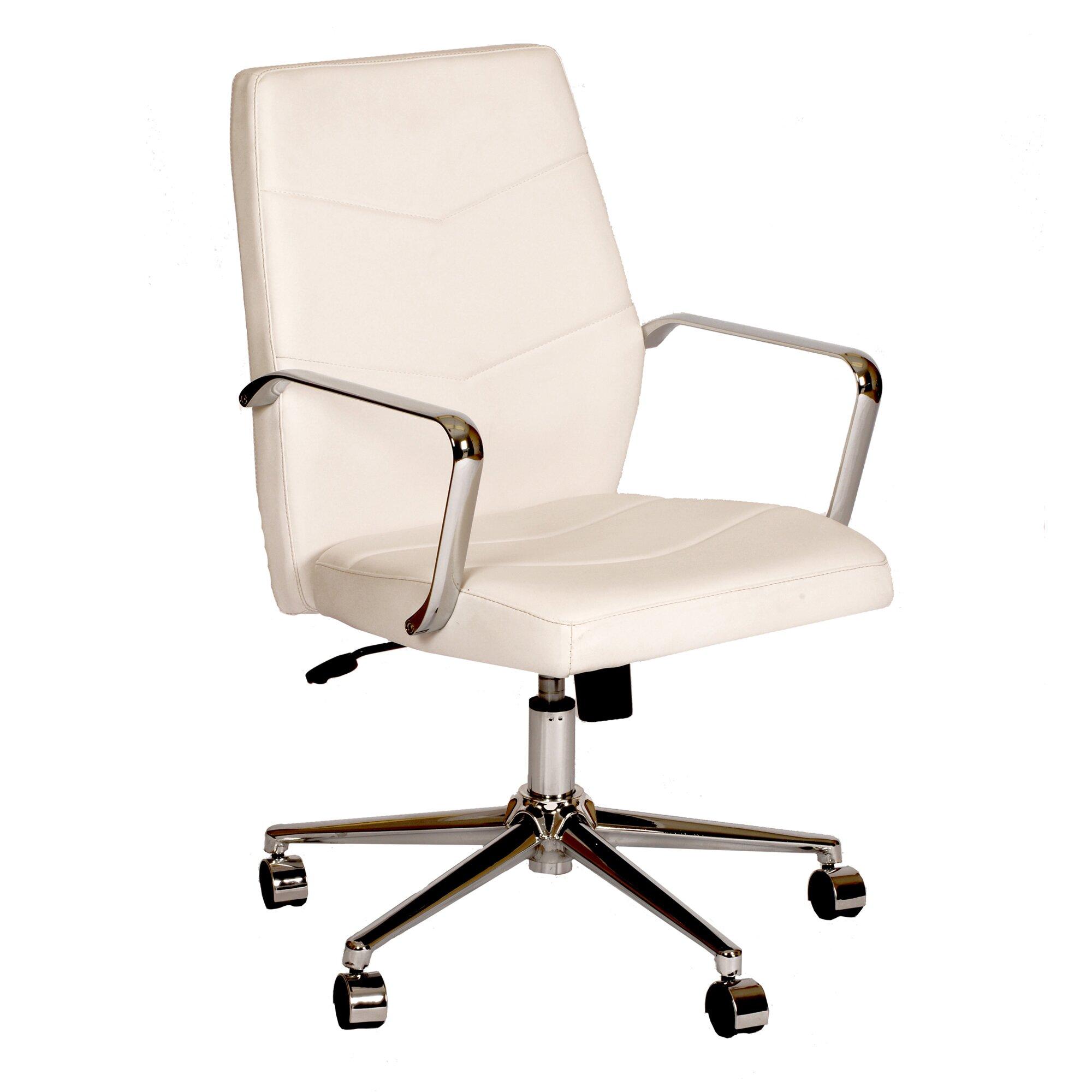 Brayden Studio Viken Mid Back Office Chair Reviews Wayfair