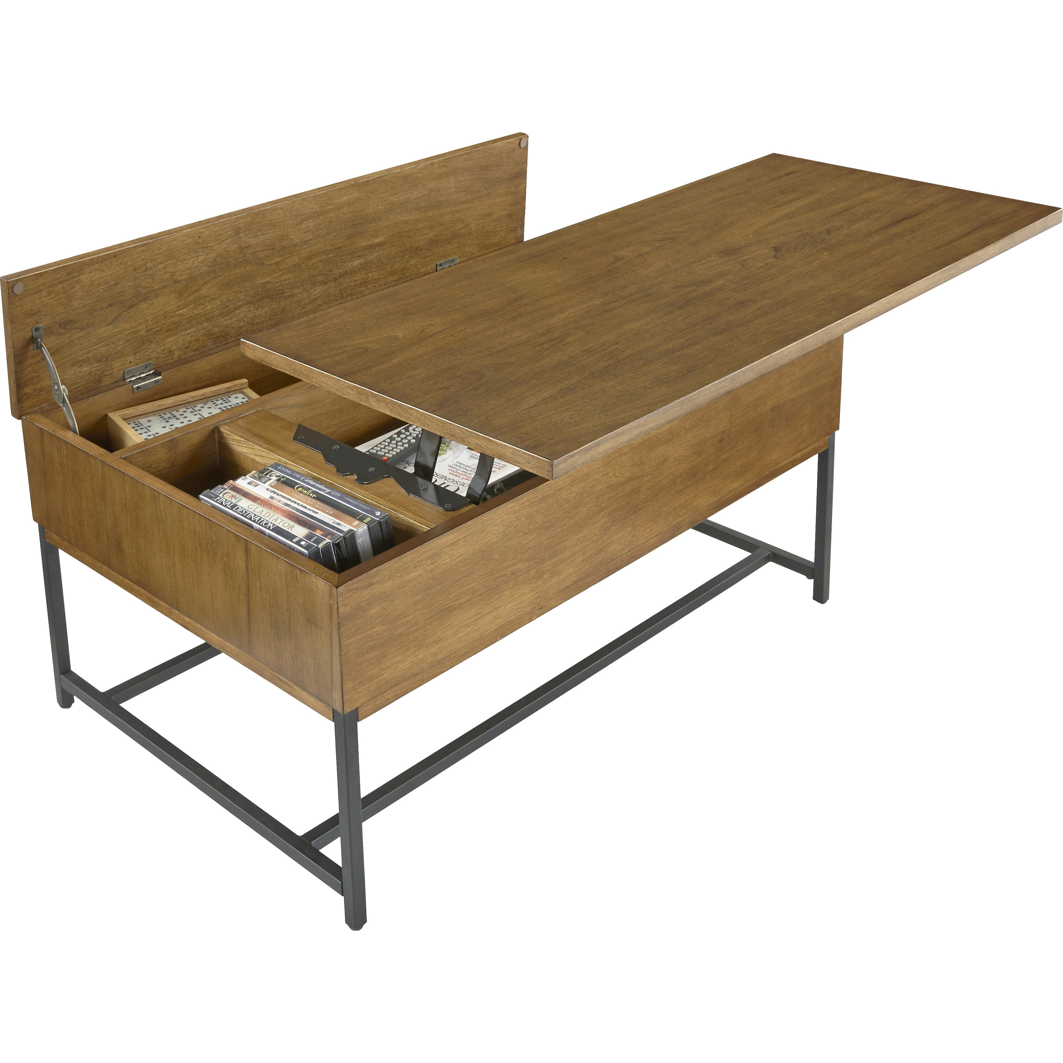 Coffee Table With Adjustable Height Lift Top: Brayden Studio Boyland Coffee Table With Lift Top