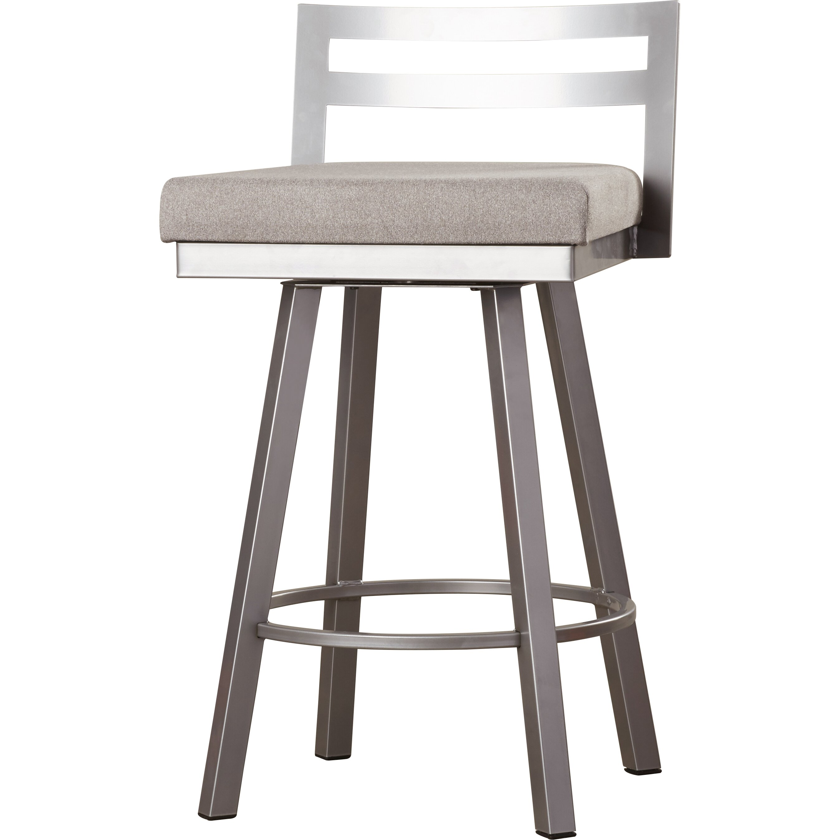 Brayden Studio Glassman 2675quot Swivel Bar Stool with  : Glassman 2675 Swivel Bar Stool with Cushion BRSD4374 from www.wayfair.com size 2695 x 2695 jpeg 461kB