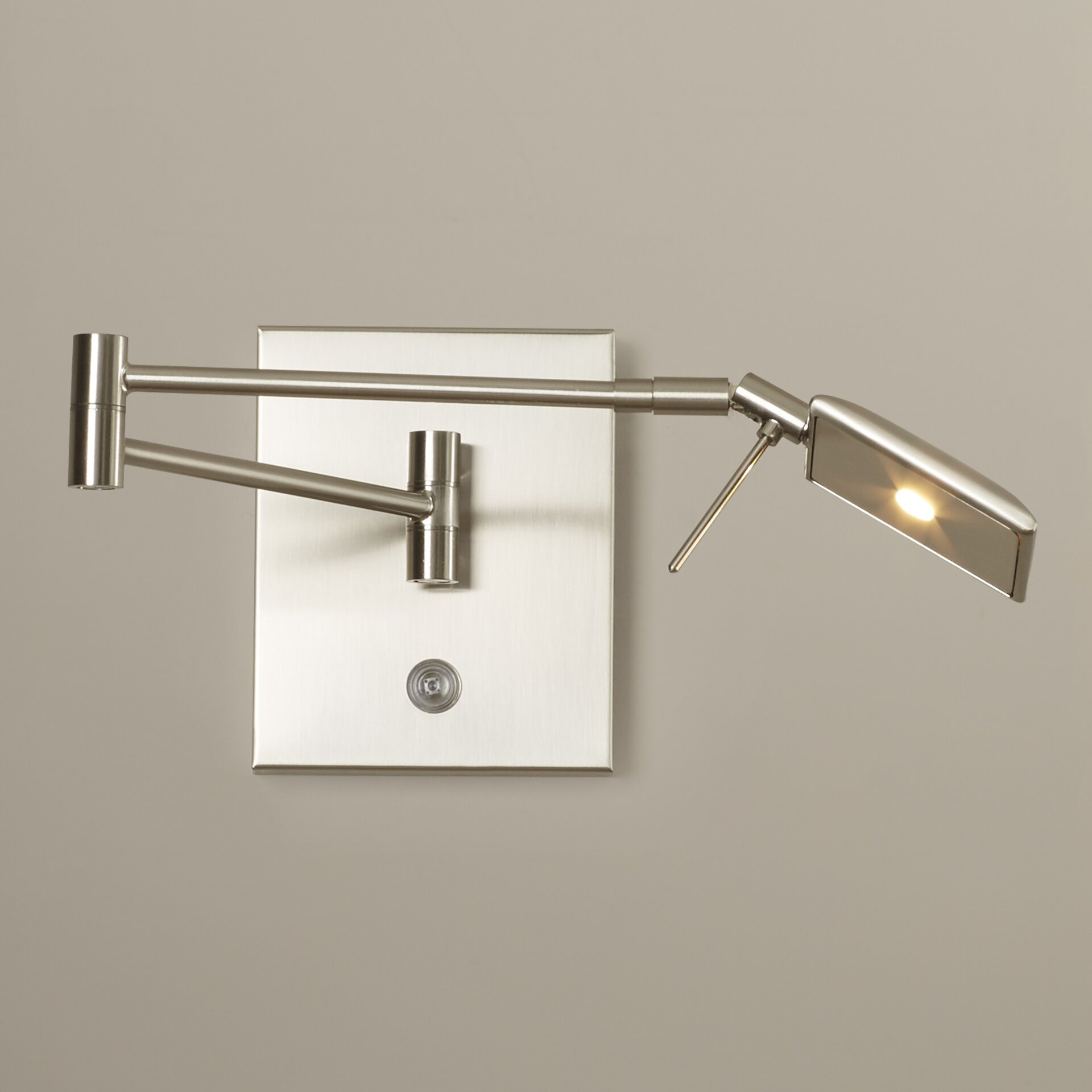 swing arm wall lamp