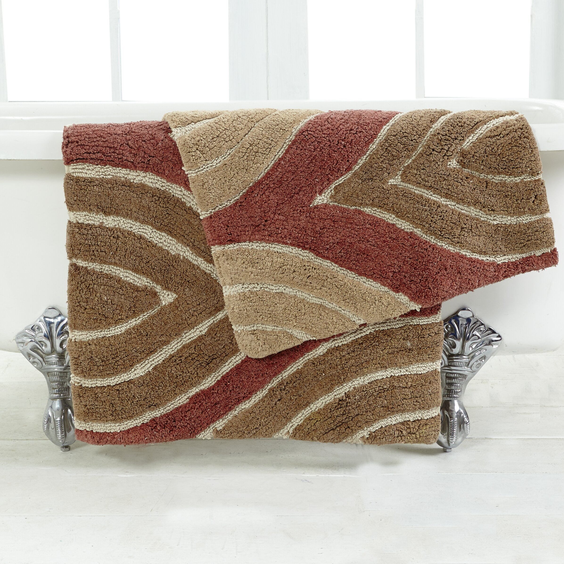 Langley Street Aliso 2 Piece Bath Rug Set Reviews Wayfair