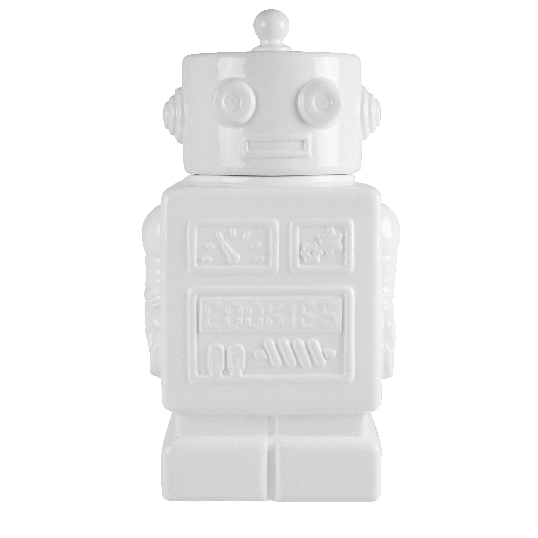 35cm Robot Cookie Jar by Salt & Pepper
