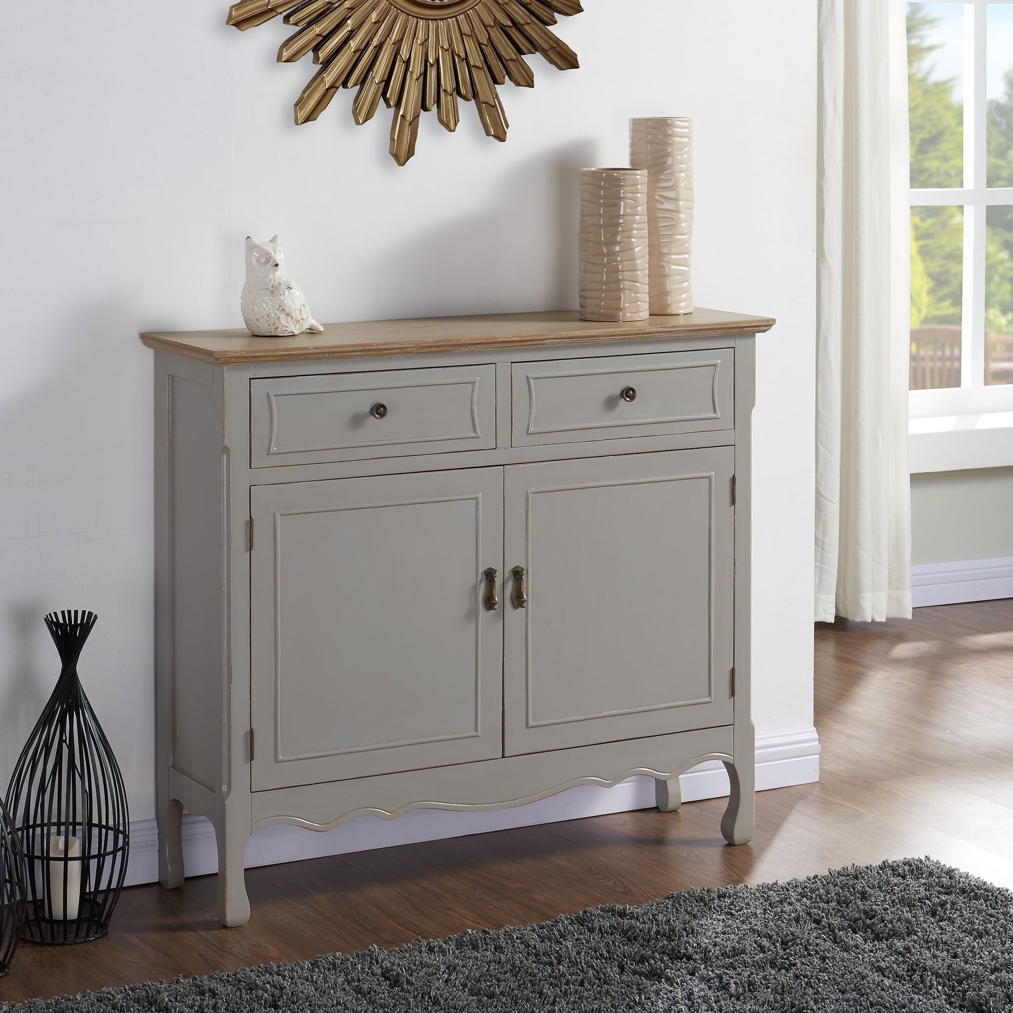 Grey Distressed Kitchen Cabinets: !nspire Cabinet & Reviews