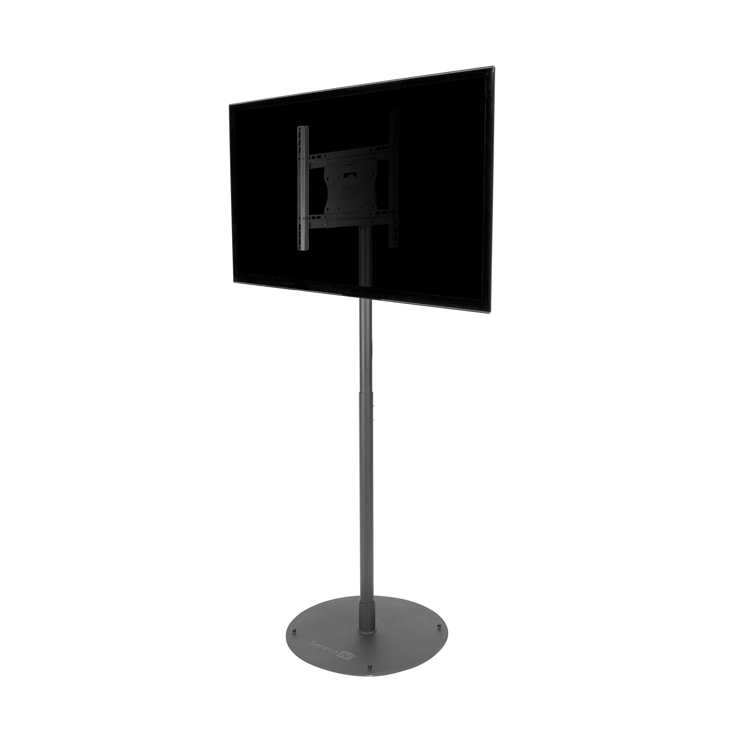 stationary floor mount for 26 50 flat panel screens wayfair. Black Bedroom Furniture Sets. Home Design Ideas