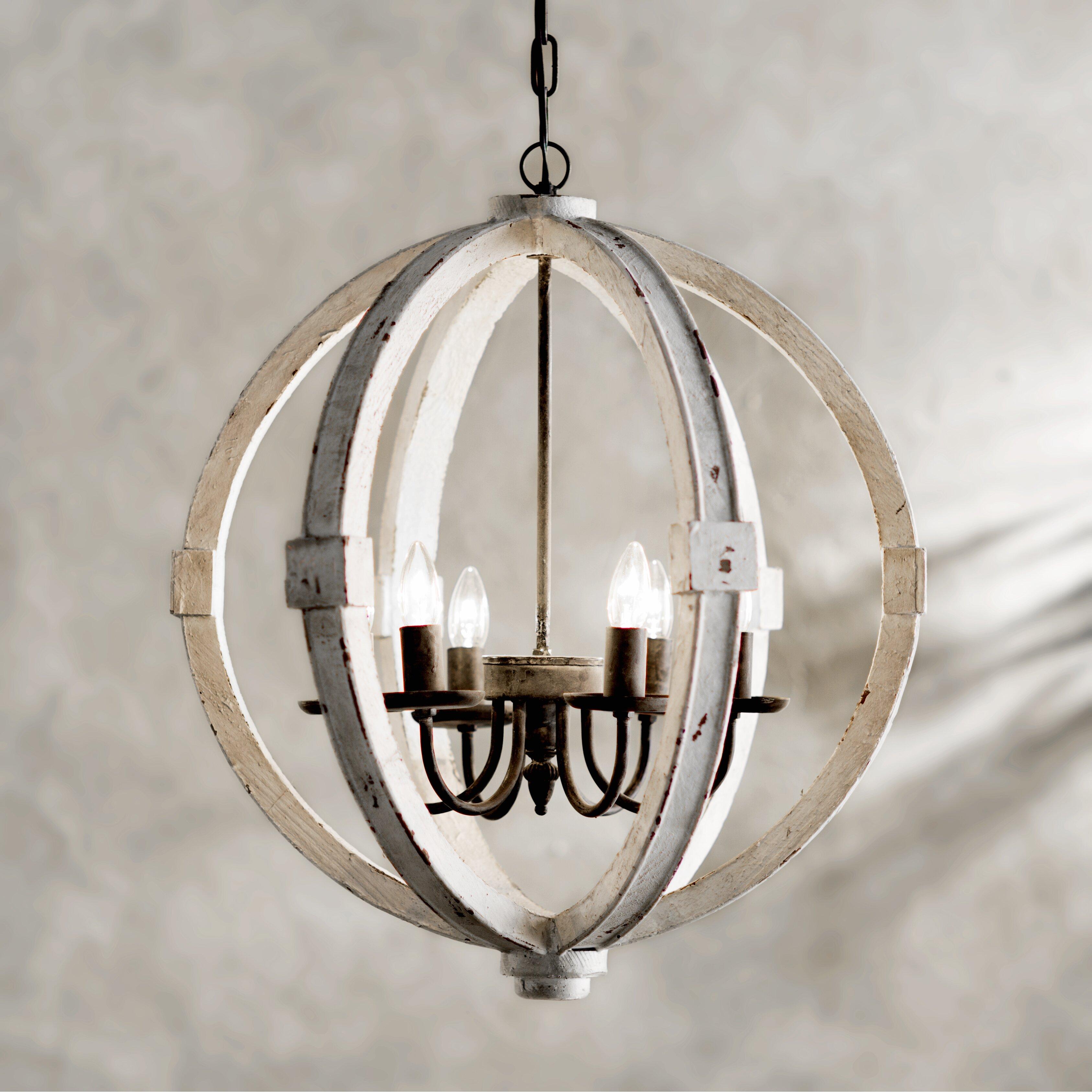 Lark Manor Bourges 6 Light Chandelier & Reviews