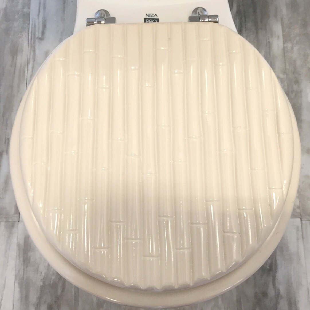 wooden square toilet seat. American Standard Black Elongated Molded  Daniels Bath Wood Round Toilet Seat Amp Reviews Wayfair