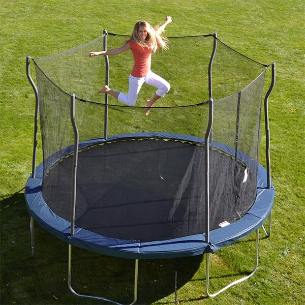 Propel Trampolines Kinetic 12' Trampoline And Enclosure