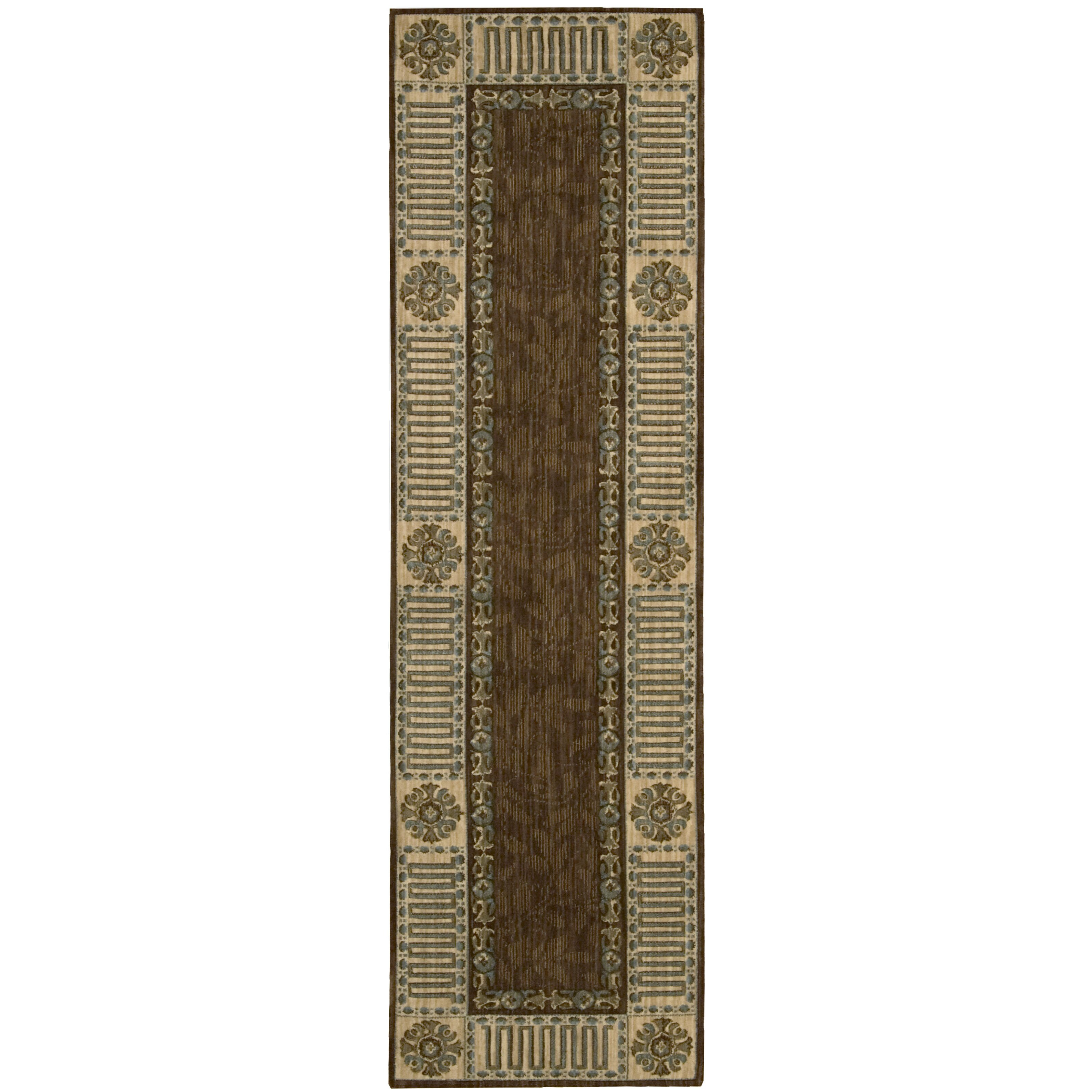 Nourison Vallencierre Brown Area Rug Amp Reviews Wayfair