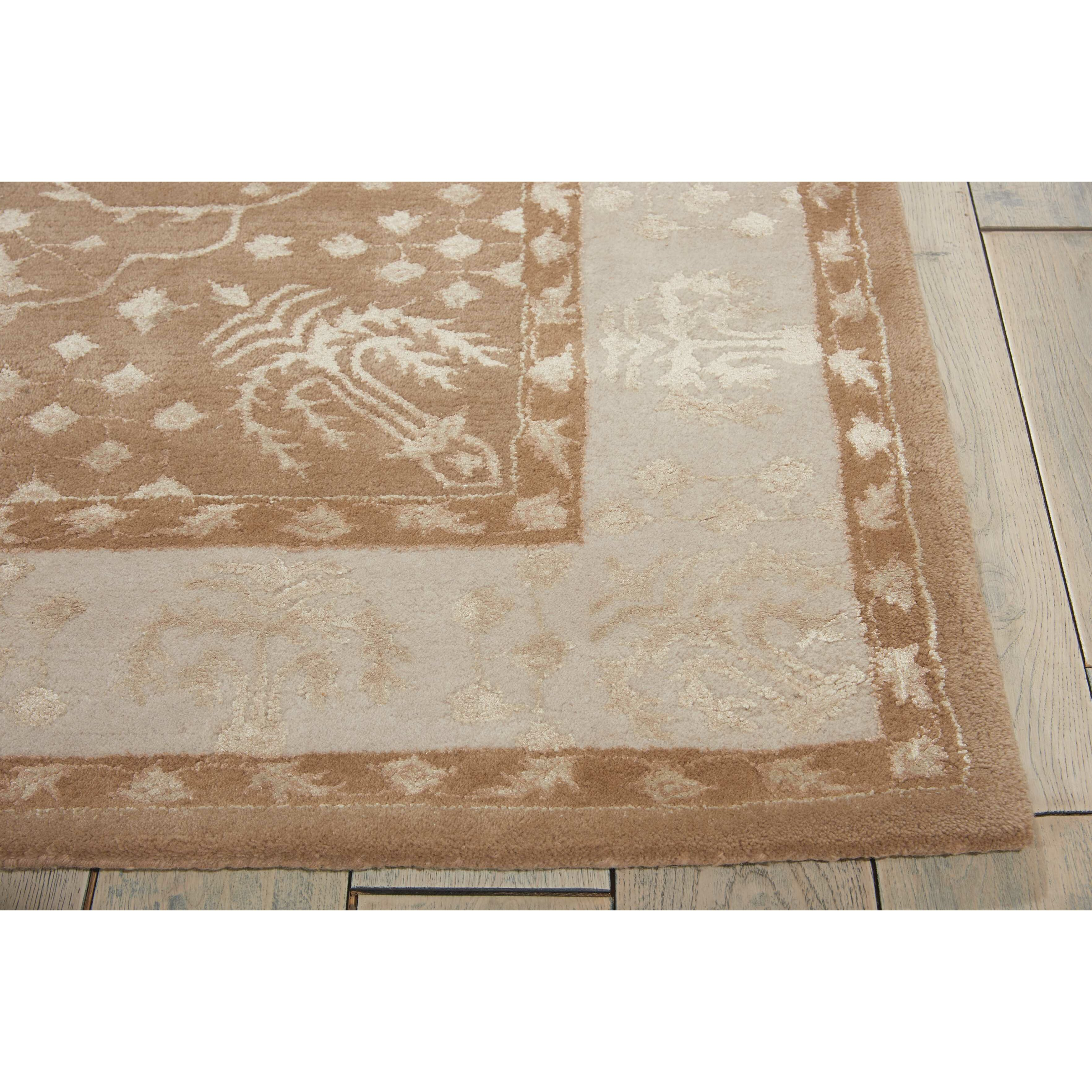 Nourison symphony warm taupe rug reviews wayfair for Warm rugs