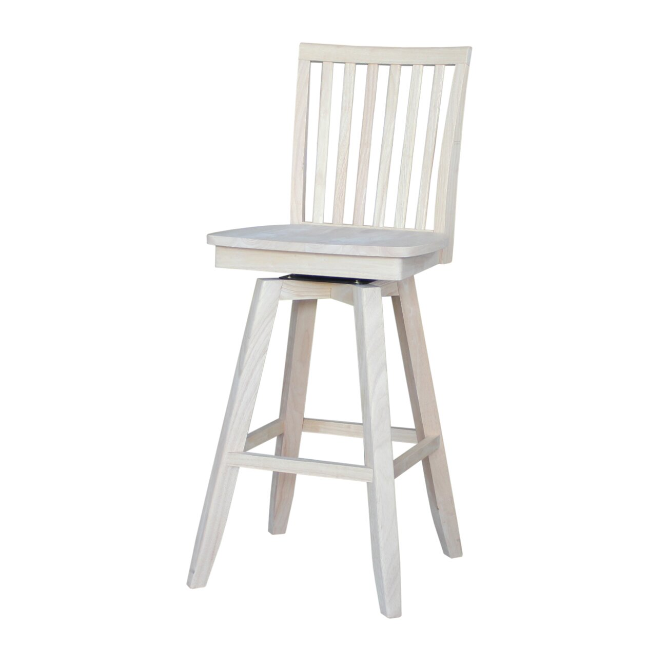 Mission 30 Quot Swivel Bar Stool Wayfair