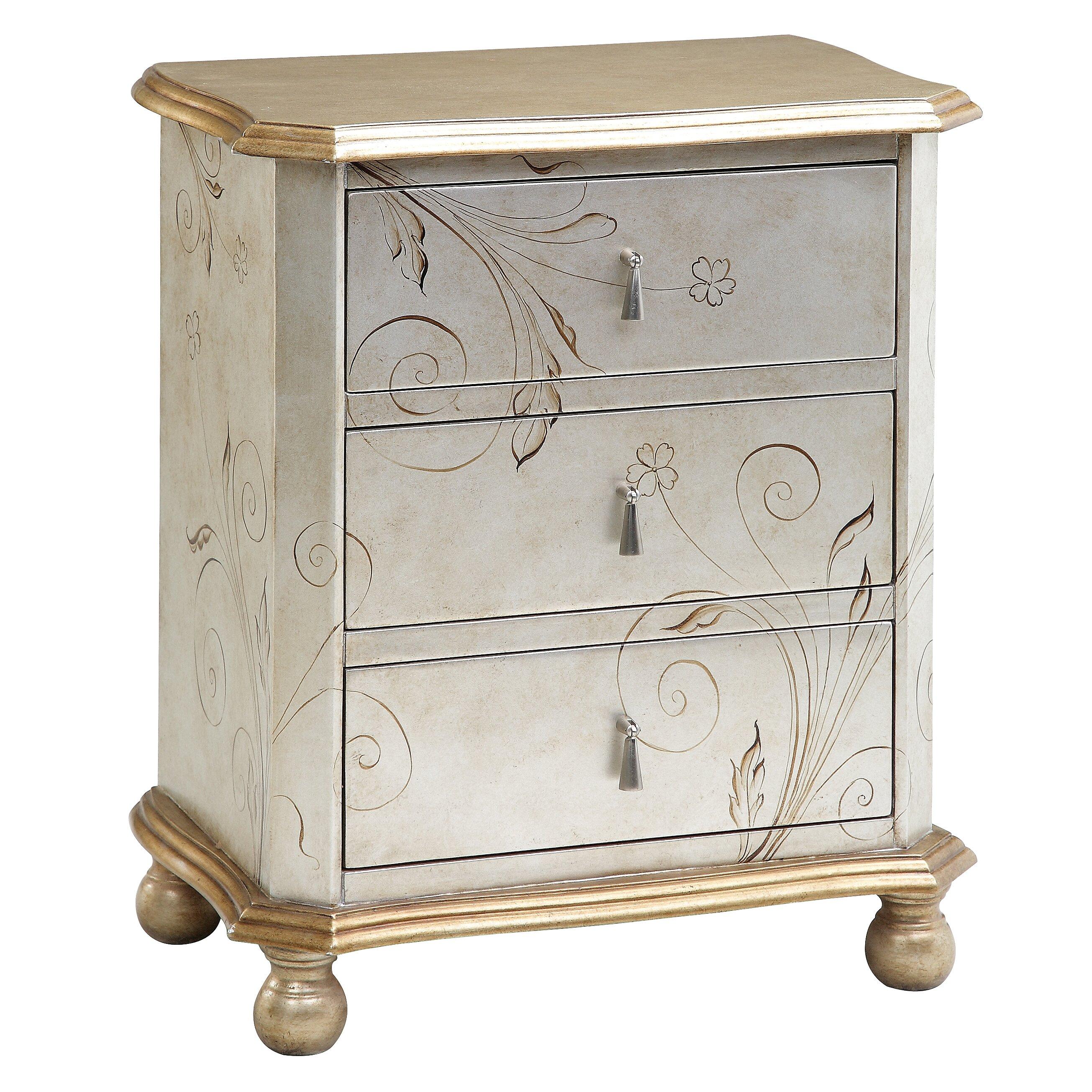 august grove avis 3 drawer chest reviews wayfair. Black Bedroom Furniture Sets. Home Design Ideas