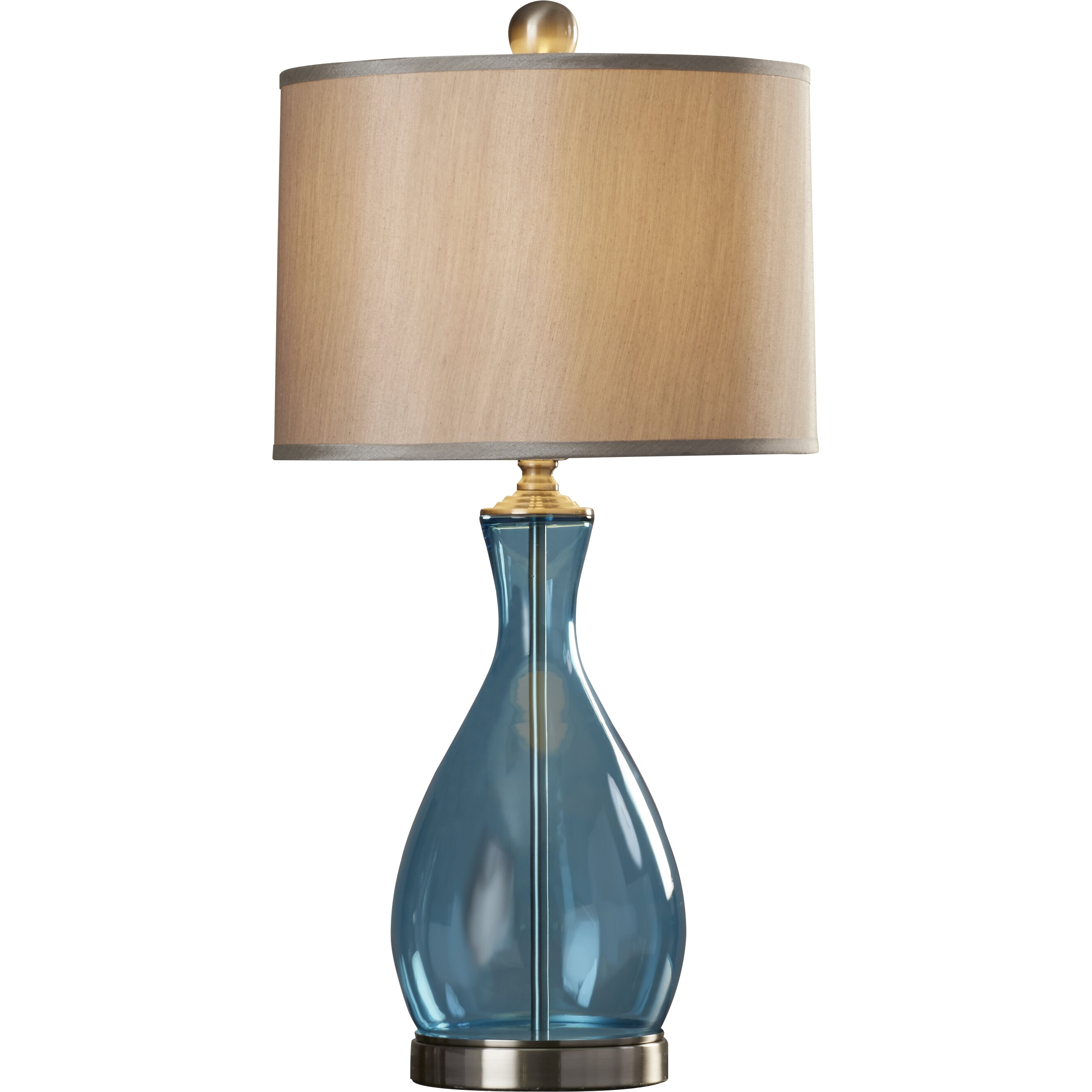 Beachcrest Home Fairhaven 29 Quot H Table Lamp With Drum Shade