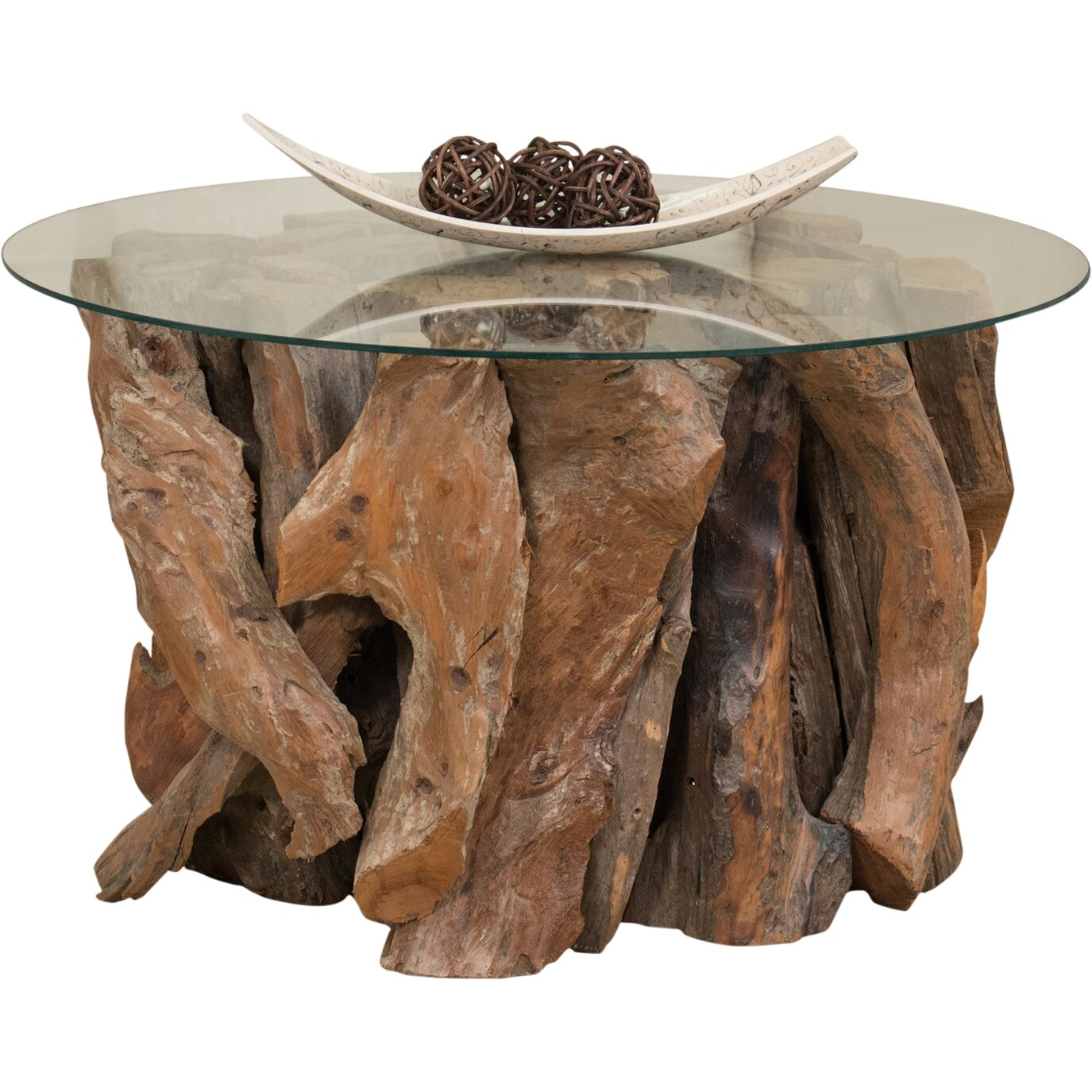 40 Square Driftwood Coffee Table: Driftwood Coffee Table Base