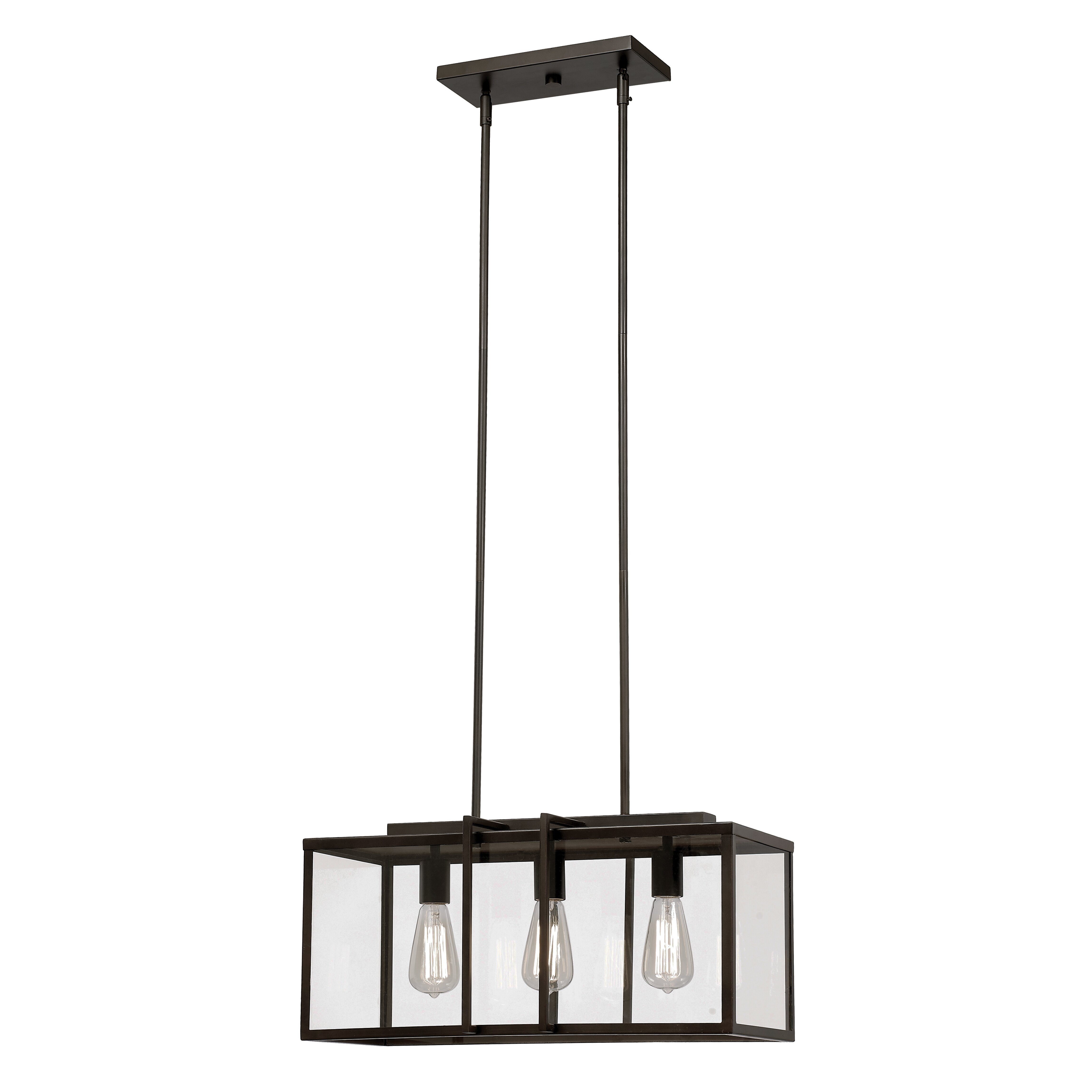 Kitchen Island Lantern Pendants: Trent Austin Design 3 Light Kitchen Island Pendant & Reviews