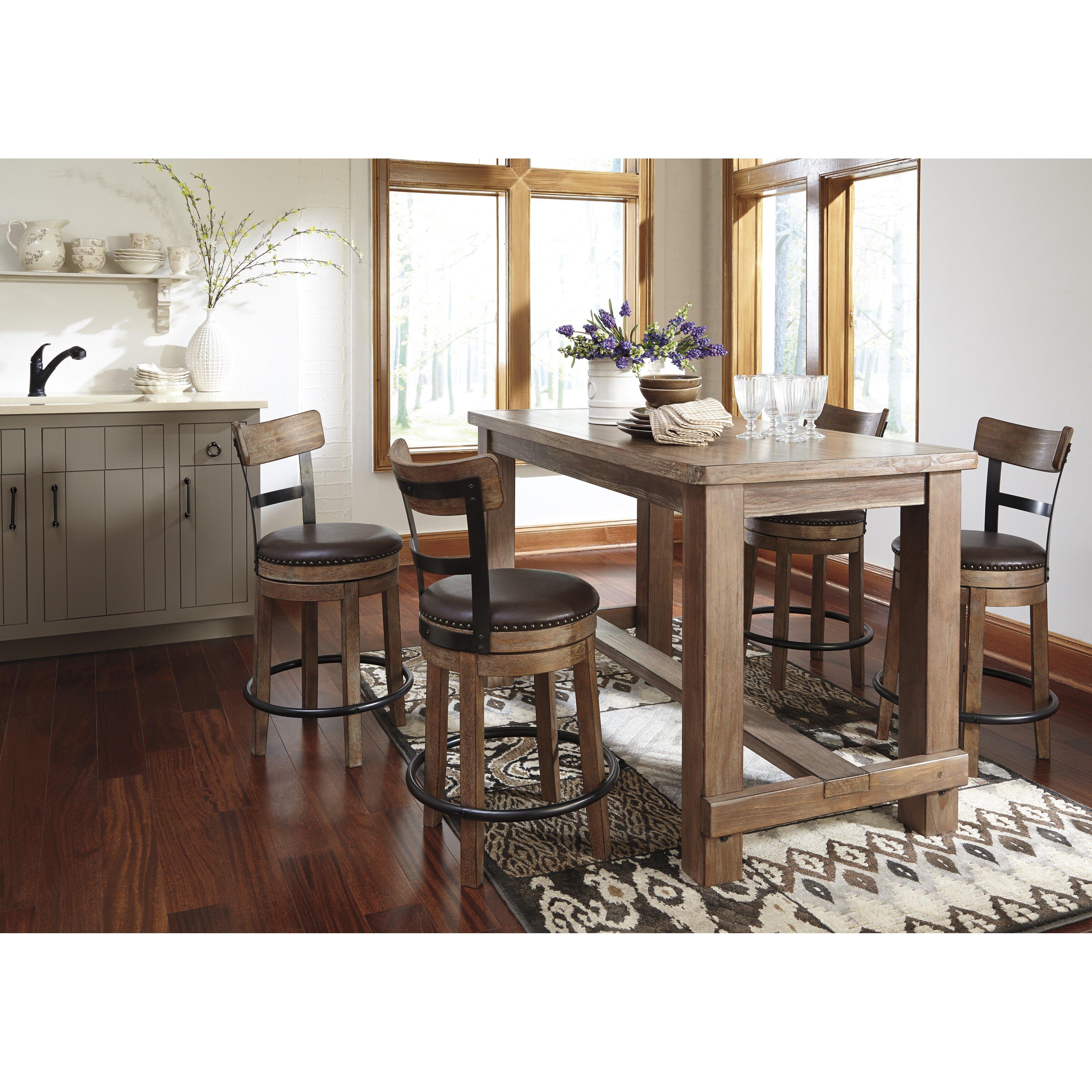 "Ashley Furniture Stores Austin Tx: Trent Austin Design Dalmahoy 24.25"" Swivel Bar Stool With"