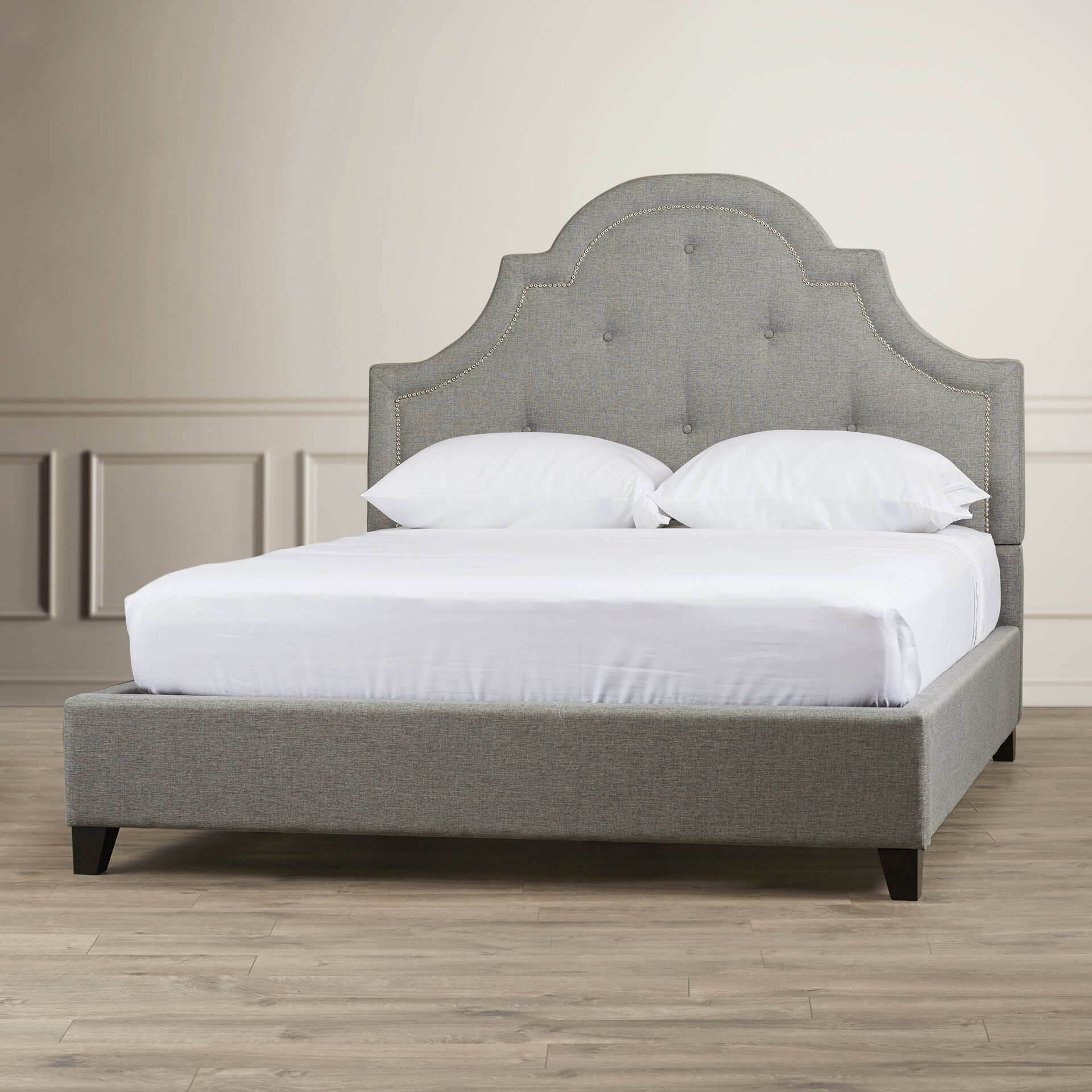 Upholstered Platform Bed : ... of Hampton Elsenborn Upholstered Platform Bed & Reviews  Wayfair