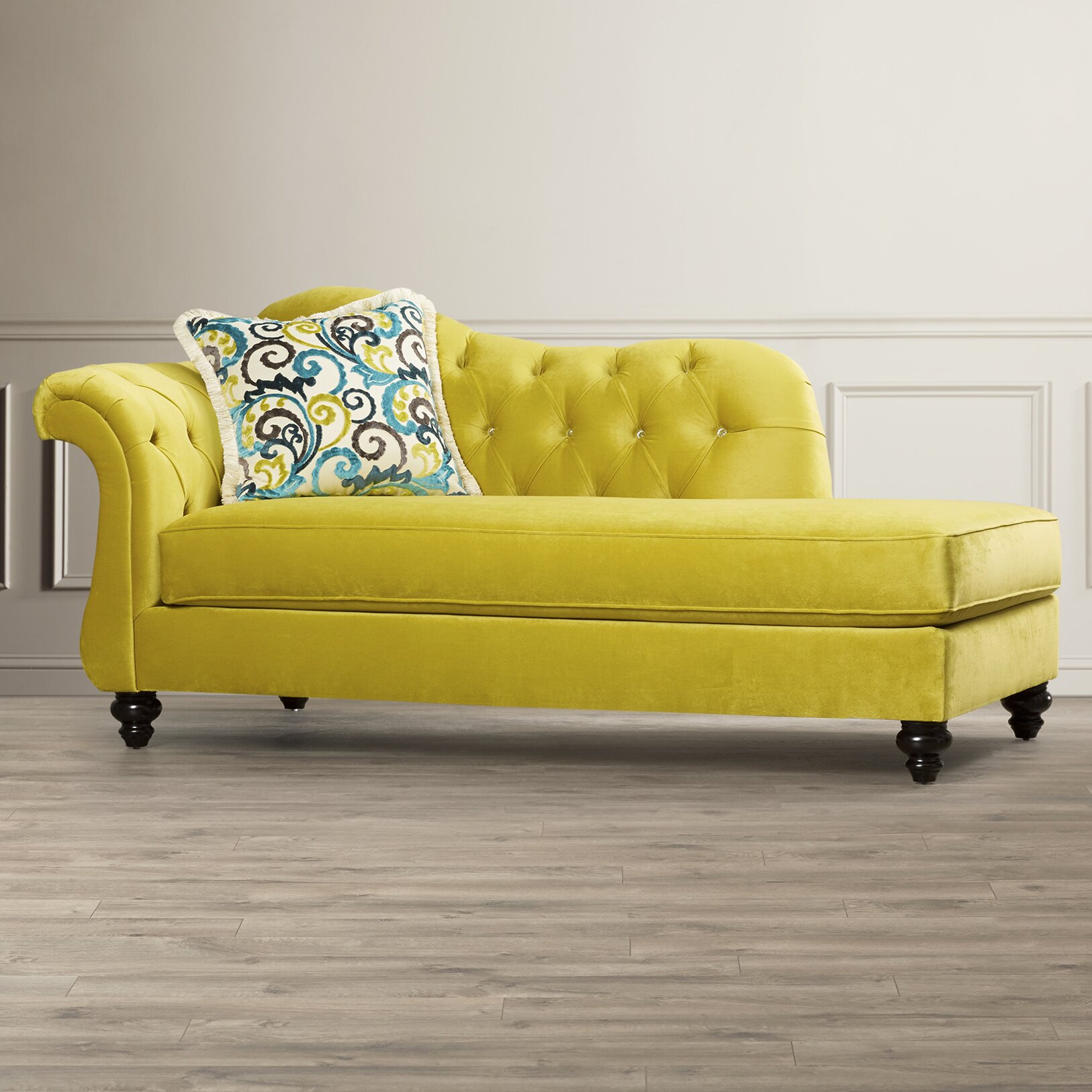 Inflatable Sofa Malta: House Of Hampton Oliver Chaise Lounge & Reviews