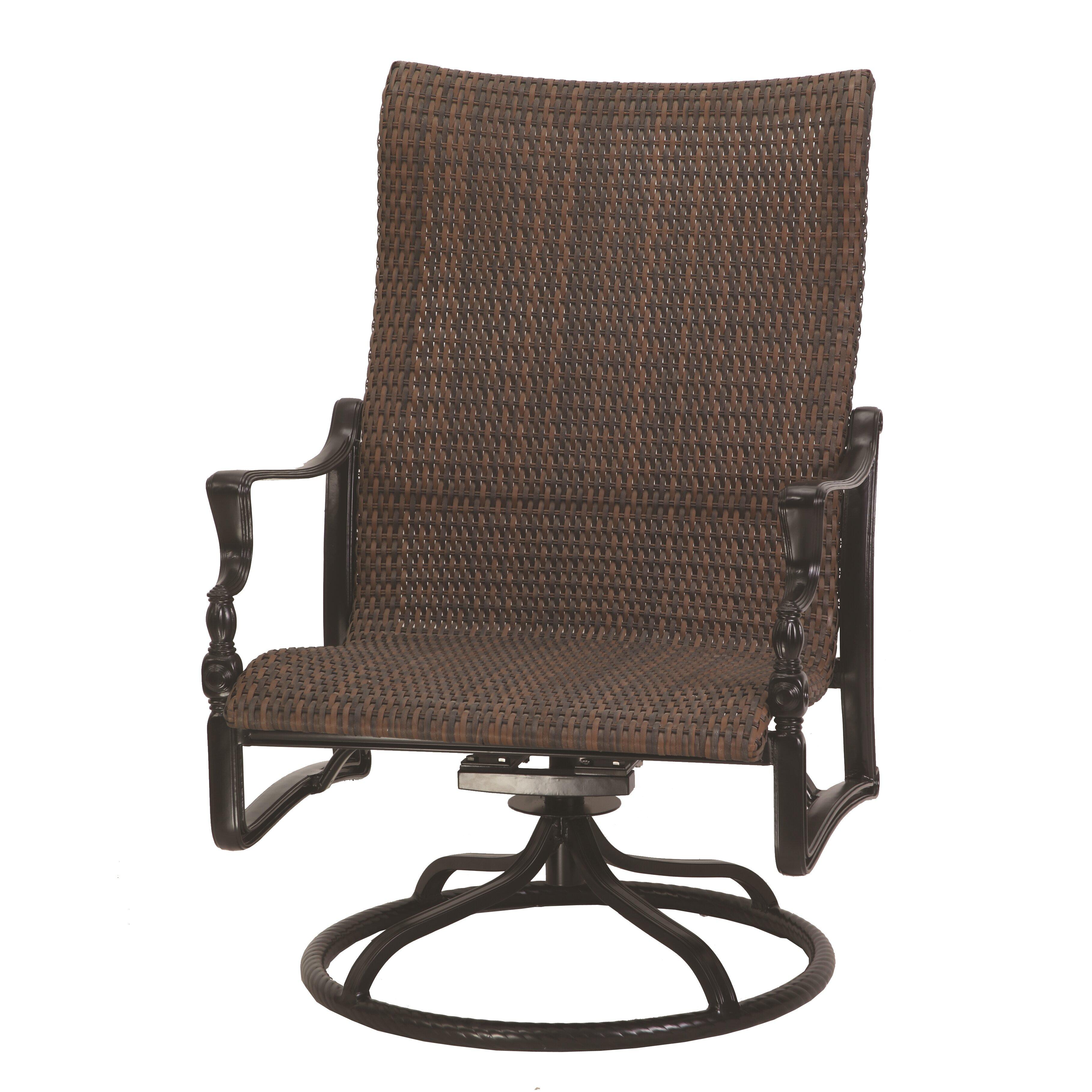 Bel Air High Back Swivel Rocking Lounge Chair