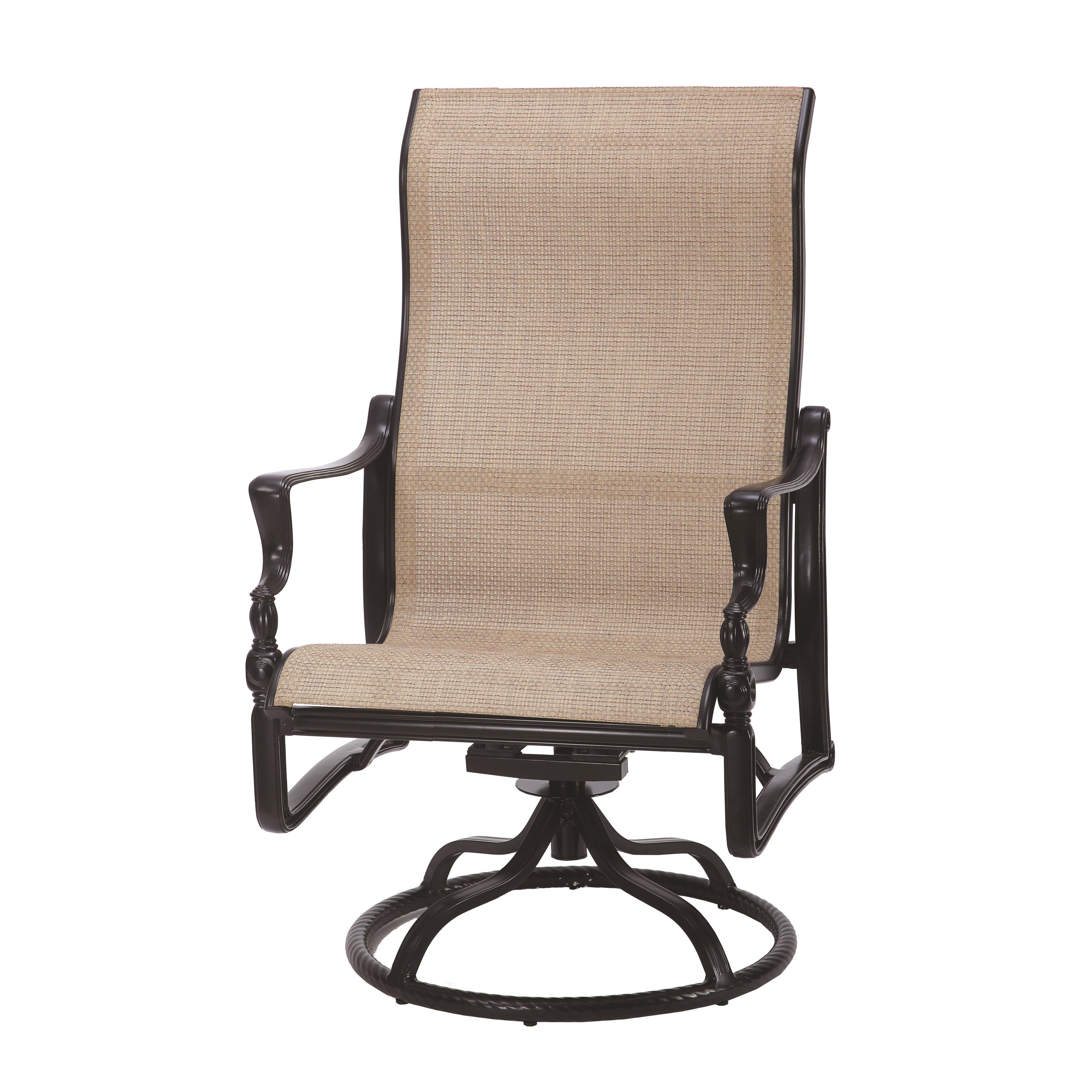 Gensun Casual Living Bel Air High Back Swivel Rocking Lounge Chair
