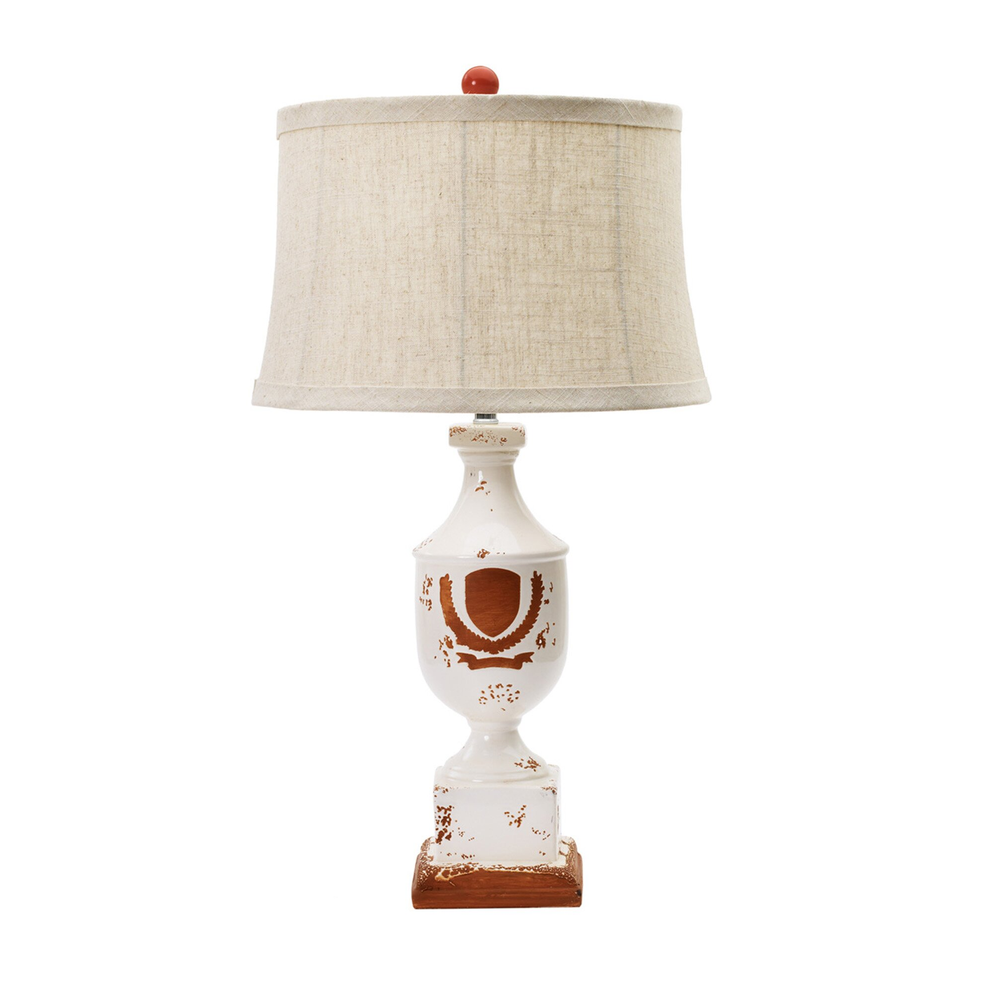 fangio lighting 28 h table lamp with oval shade. Black Bedroom Furniture Sets. Home Design Ideas