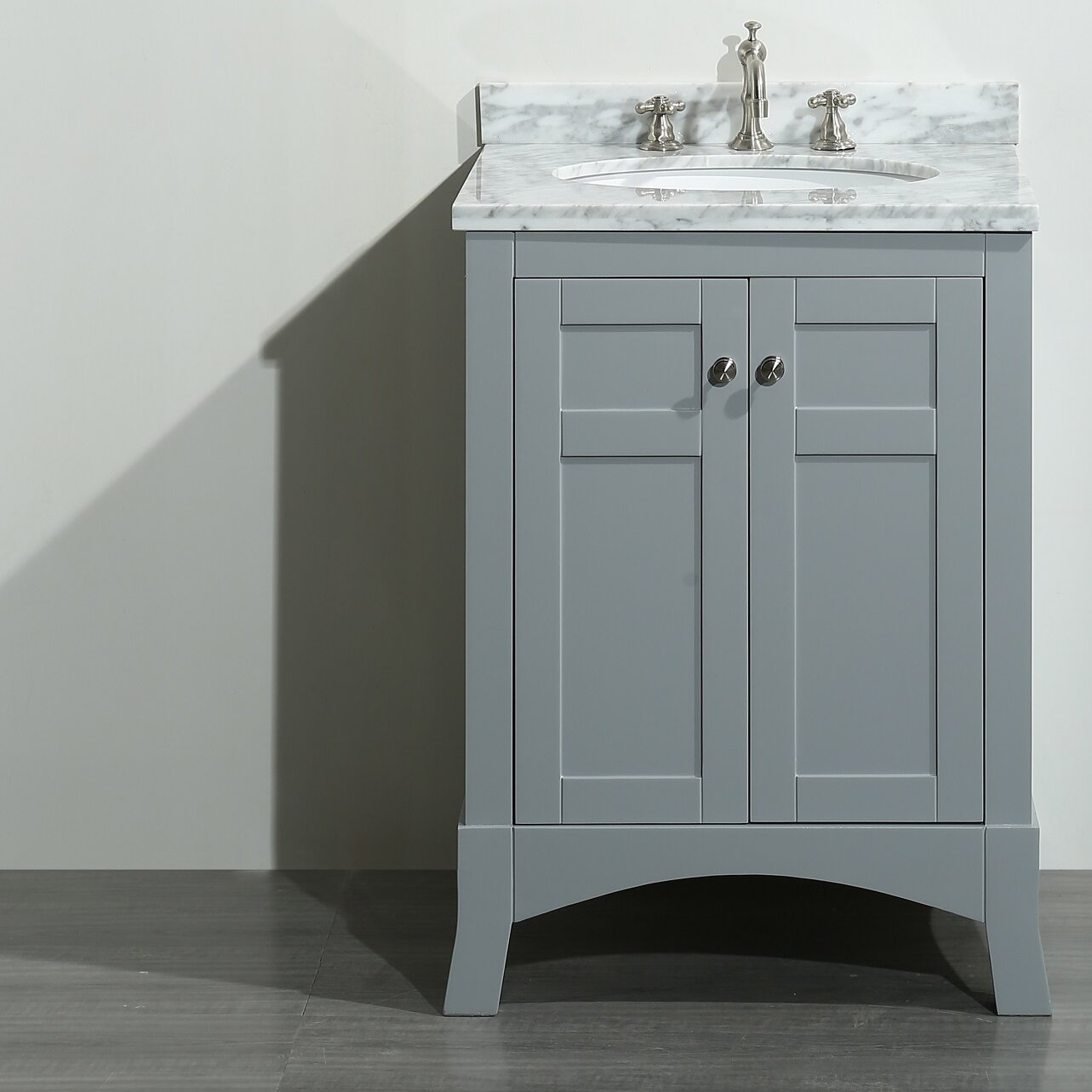 "New York 24"" Single Bathroom Vanity Set 