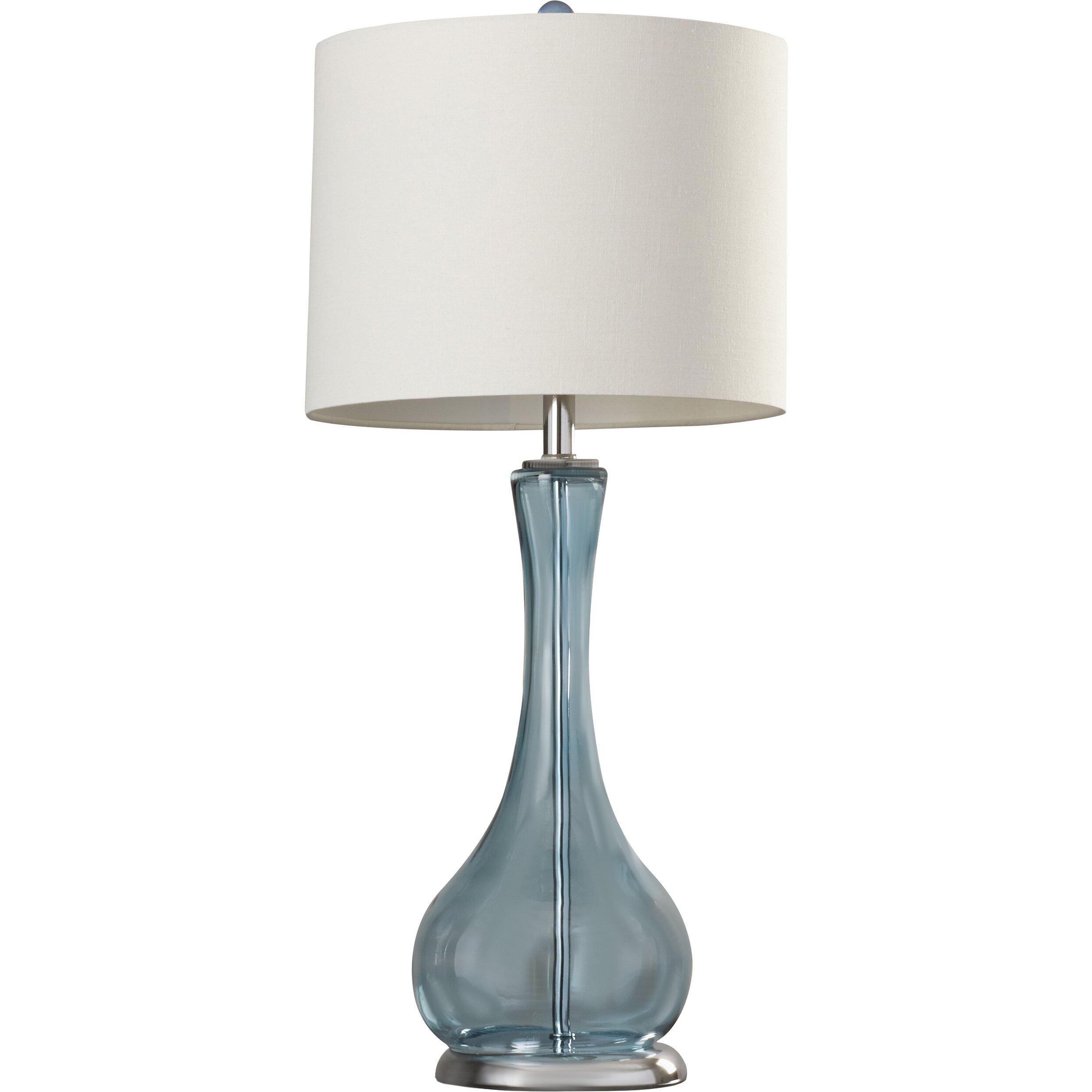 bahriya 25 5 h table lamp with rectangular shade reviews wa. Black Bedroom Furniture Sets. Home Design Ideas